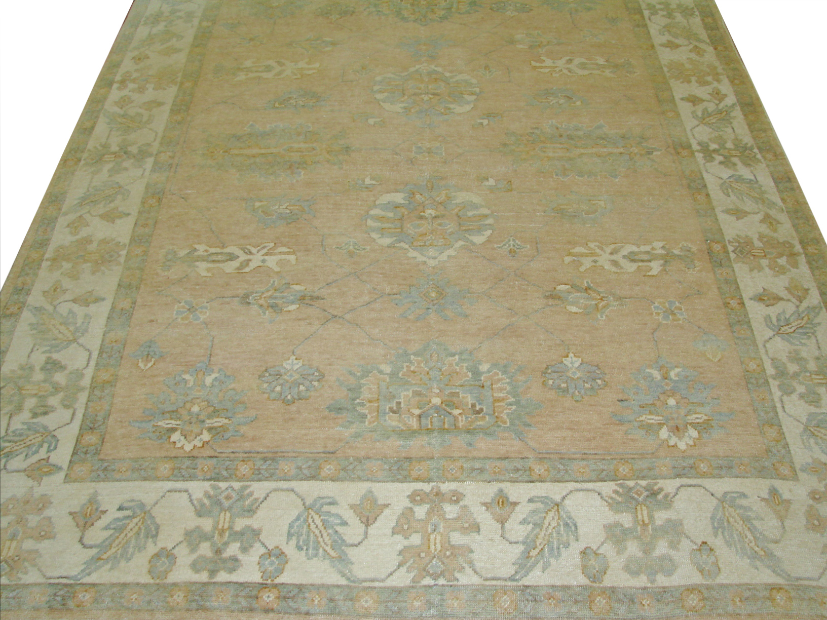8x10 Oushak Hand Knotted Wool Area Rug - MR14604