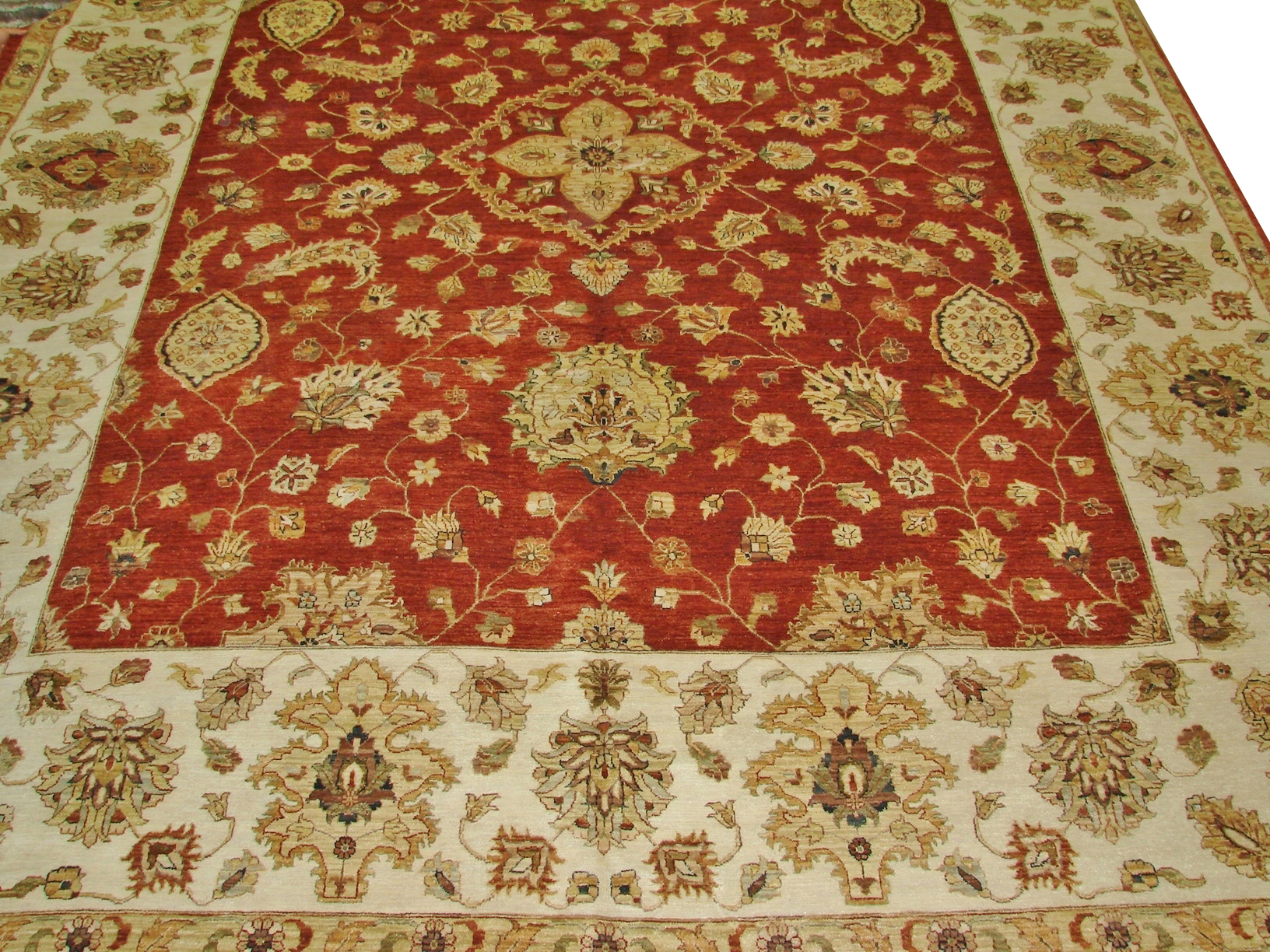 OVERSIZE Traditional Hand Knotted Wool Area Rug - MR14636