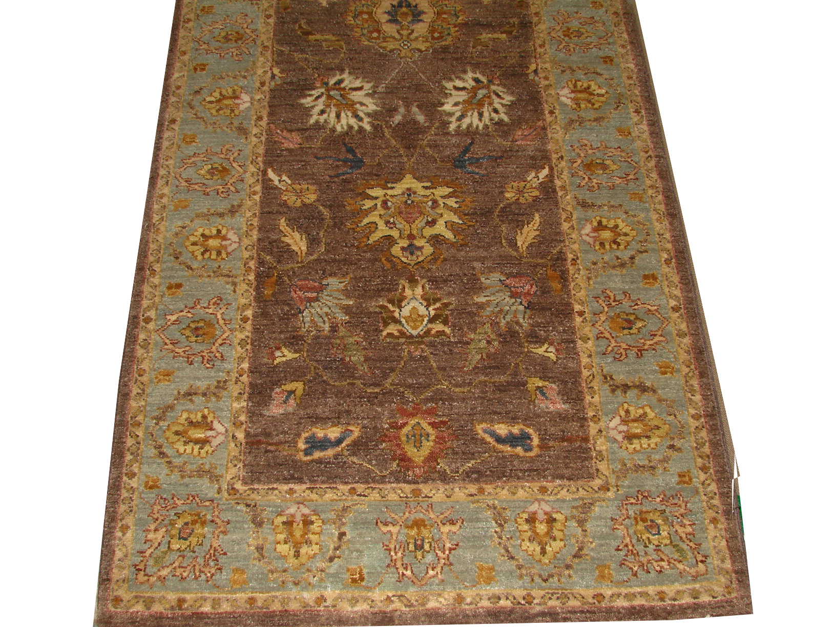 3x5 Traditional Hand Knotted Wool Area Rug - MR14657