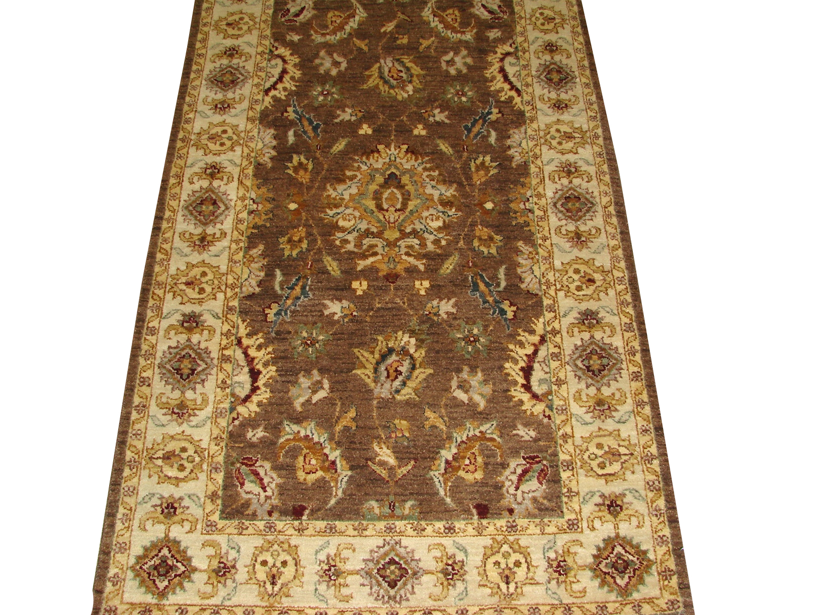 3x5 Traditional Hand Knotted Wool Area Rug - MR14662