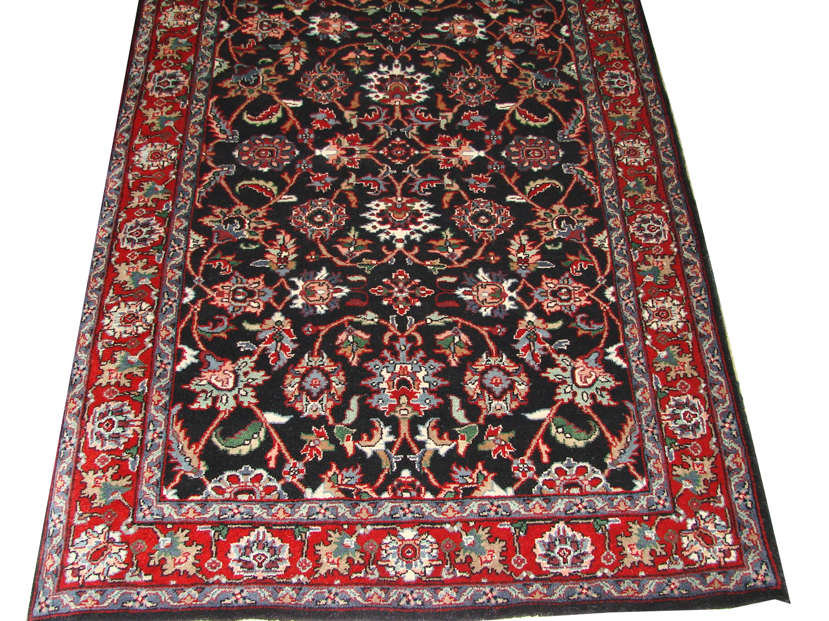 3x5 Traditional Hand Knotted Wool Area Rug - MR1482