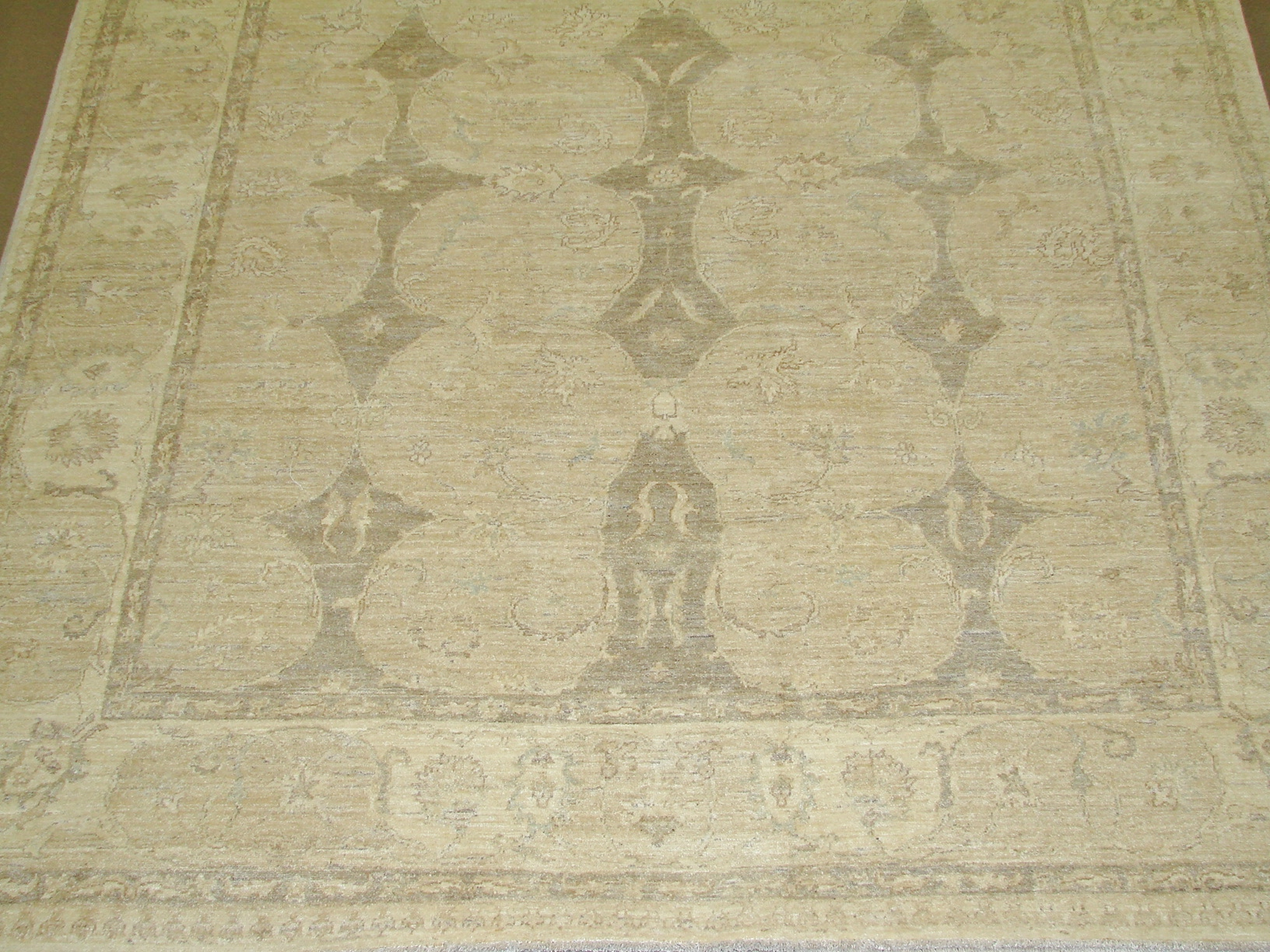 8x10 Peshawar Hand Knotted Wool Area Rug - MR14956