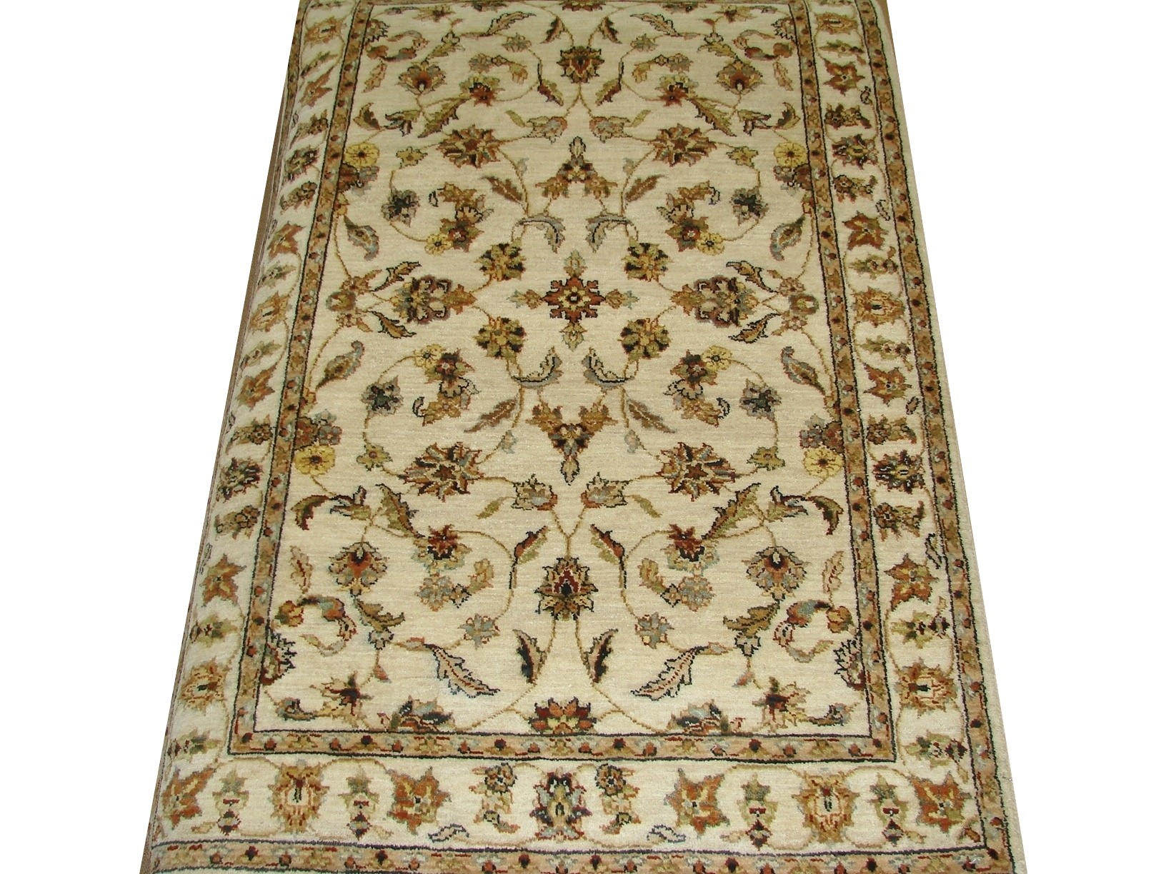 3x5 Traditional Hand Knotted Wool Area Rug - MR15264