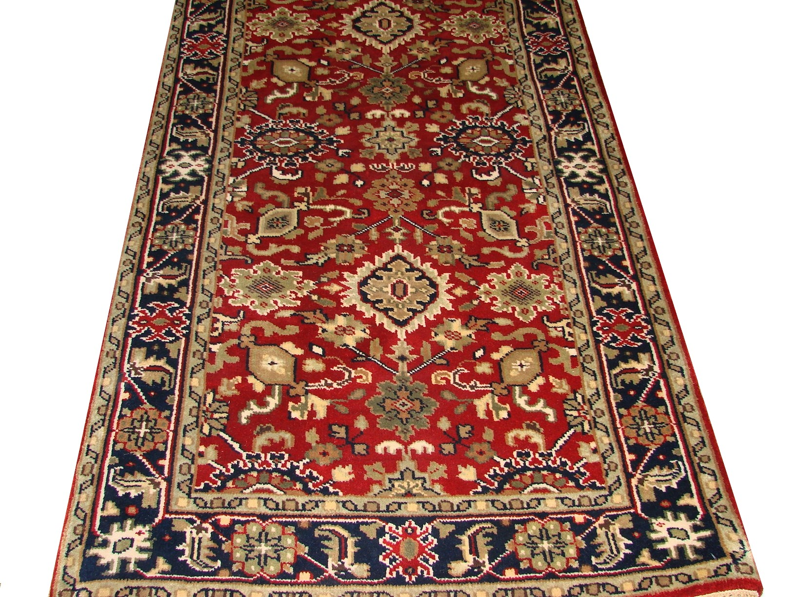 3x5 Traditional Hand Knotted Wool Area Rug - MR15306