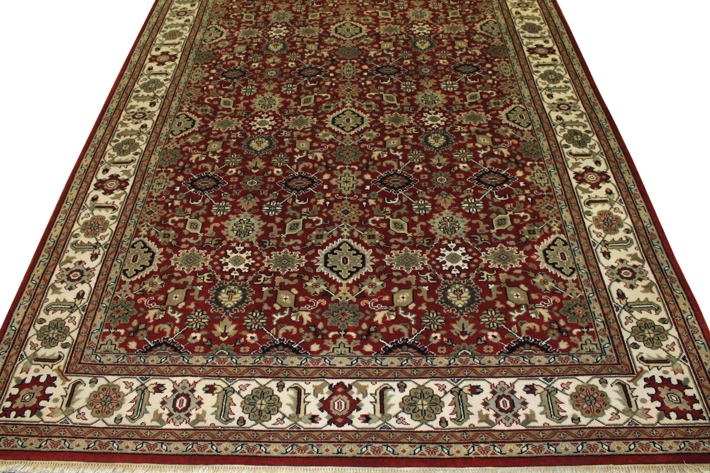 9x12 Traditional Hand Knotted Wool Area Rug - MR15309