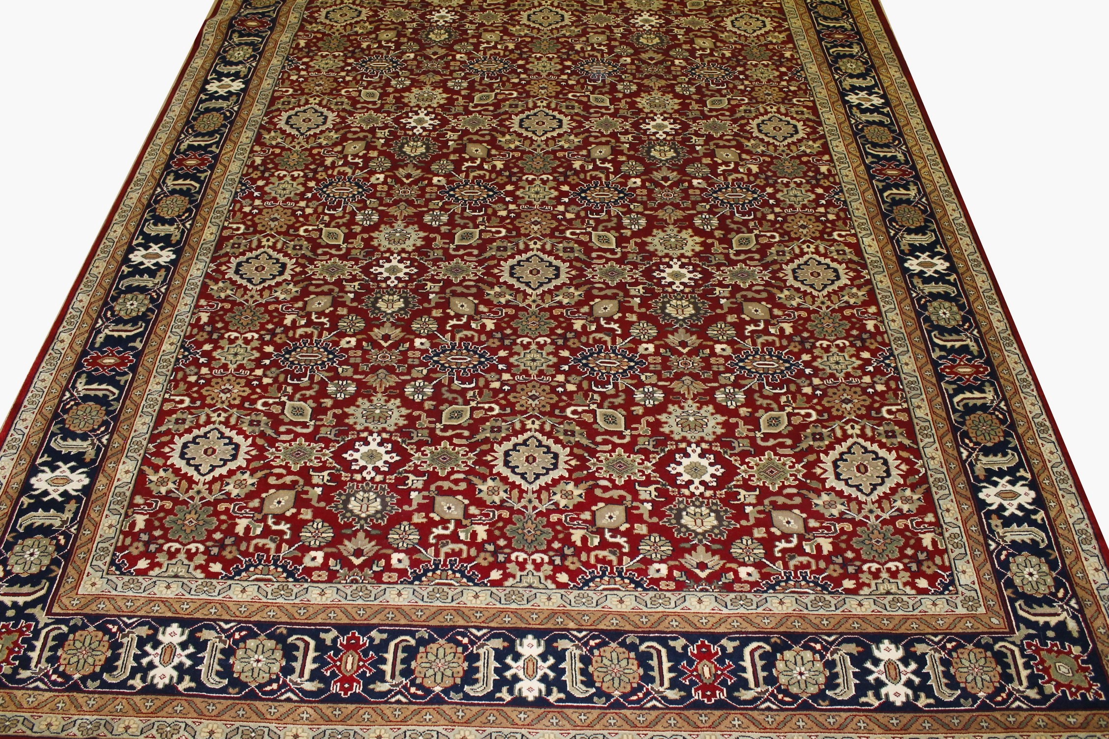 10x14 Traditional Hand Knotted Wool Area Rug - MR15320