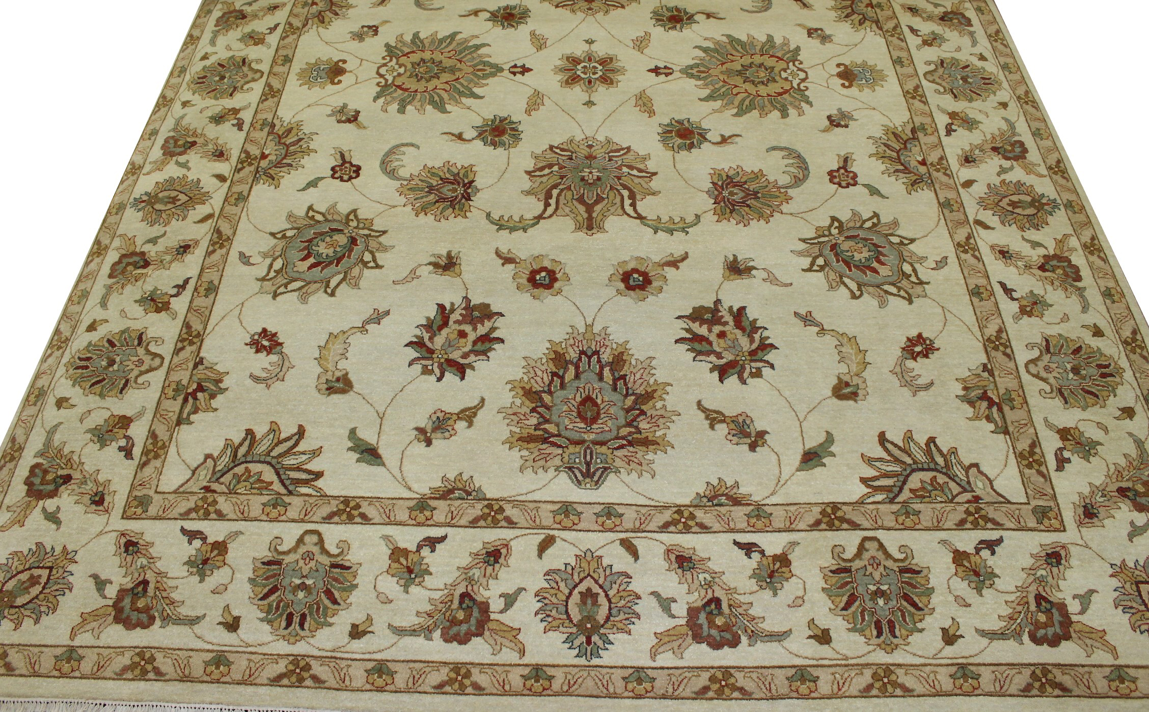 10x14 Traditional Hand Knotted Wool Area Rug - MR15331