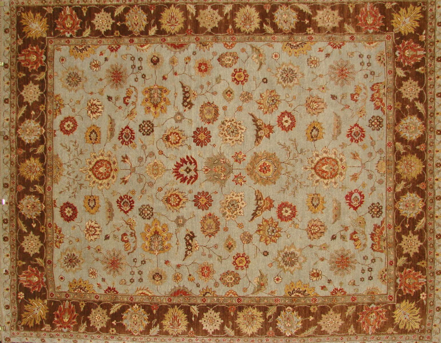 8x10 Traditional Hand Knotted Wool Area Rug - MR15365