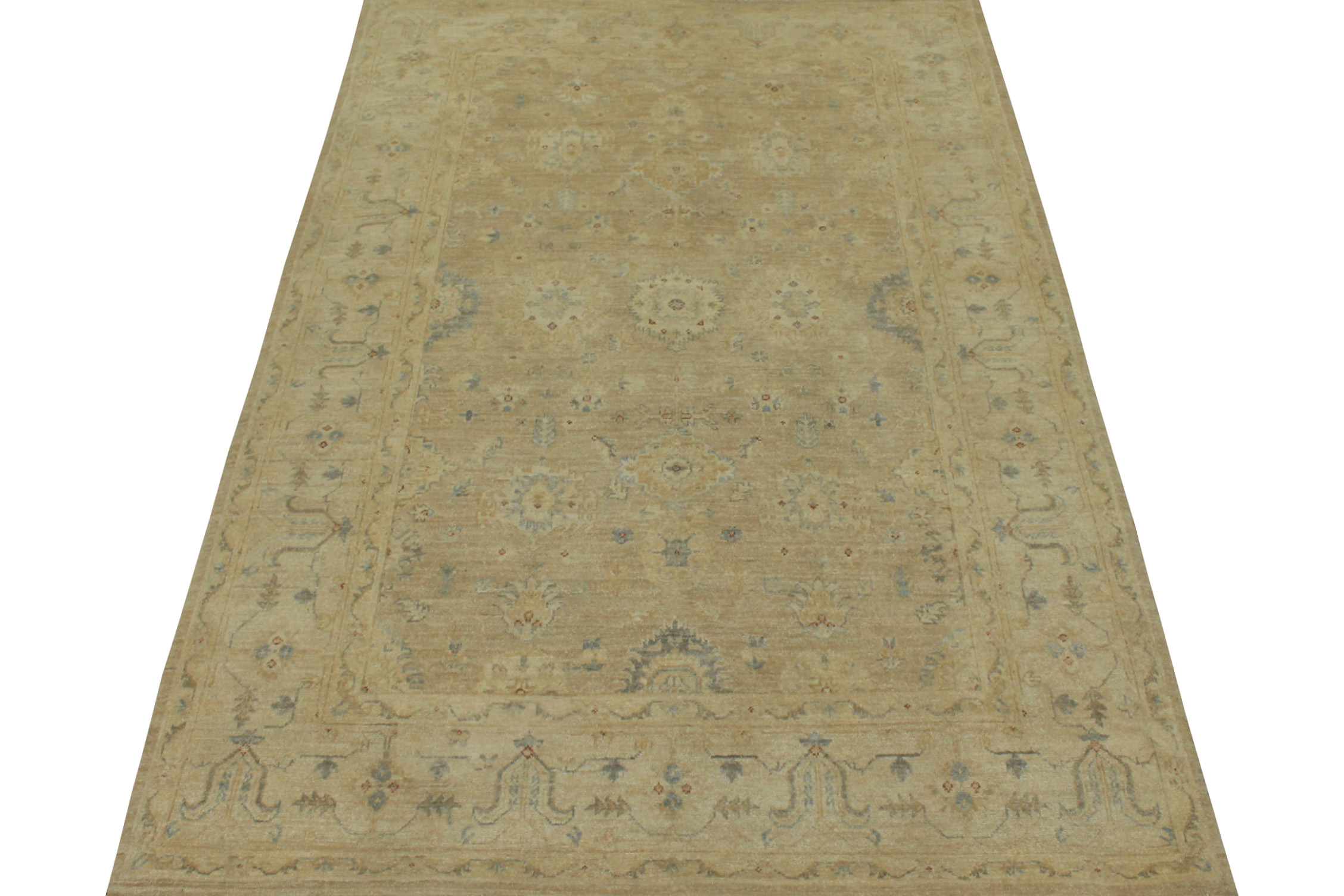 6x9 Peshawar Hand Knotted Wool Area Rug - MR15500