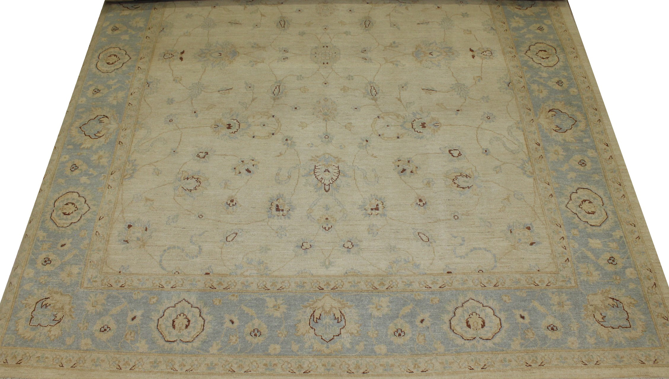 8x10 Peshawar Hand Knotted Wool Area Rug - MR15728