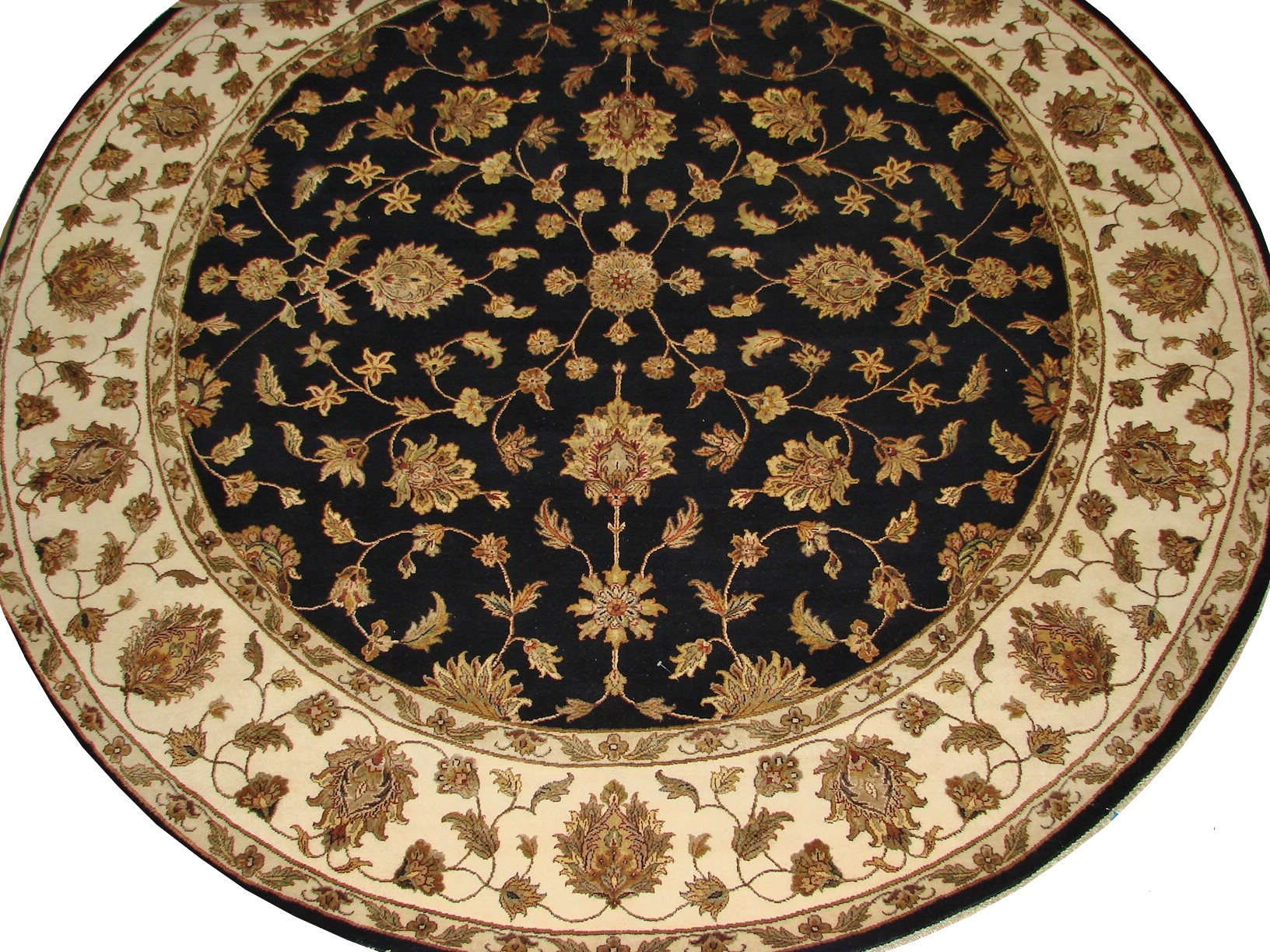 9 ft. & Over Round & Square Silk Flower Hand Knotted Wool Area Rug - MR16016