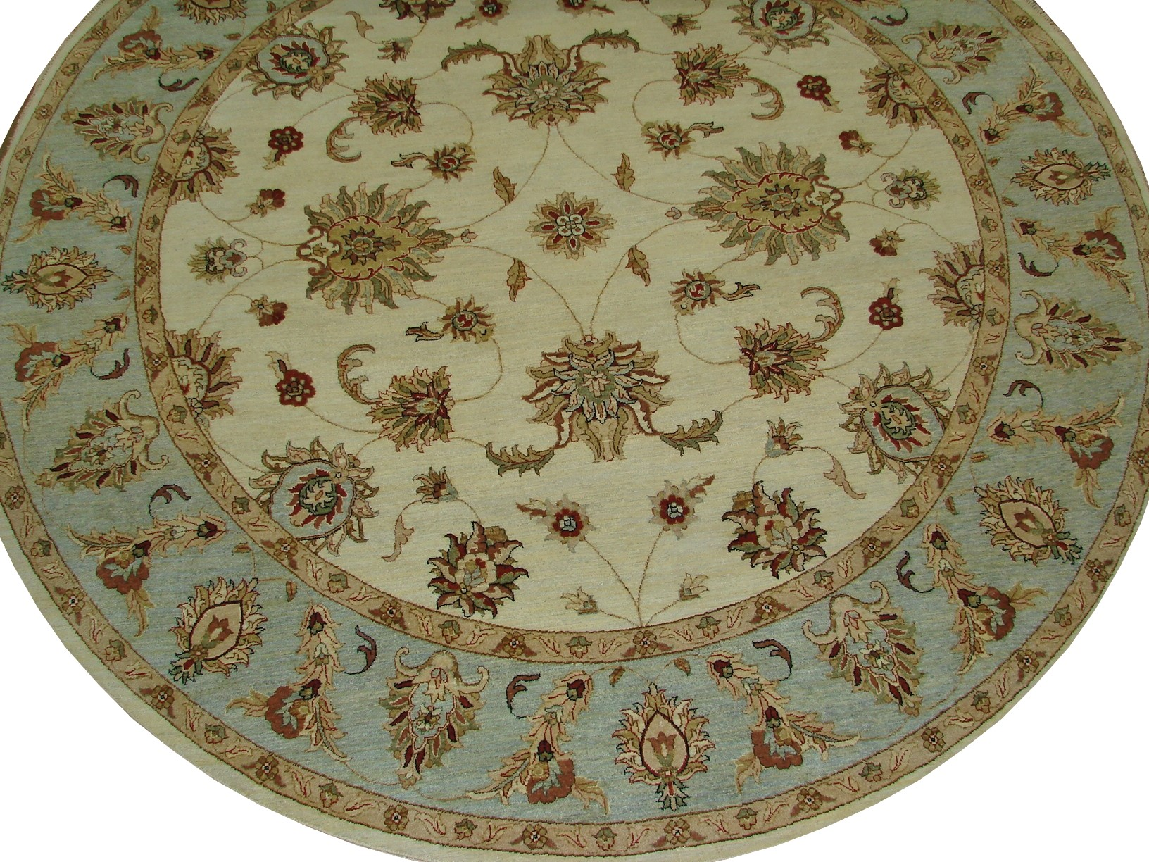 9 ft. & Over Round & Square Traditional Hand Knotted Wool Area Rug - MR16034