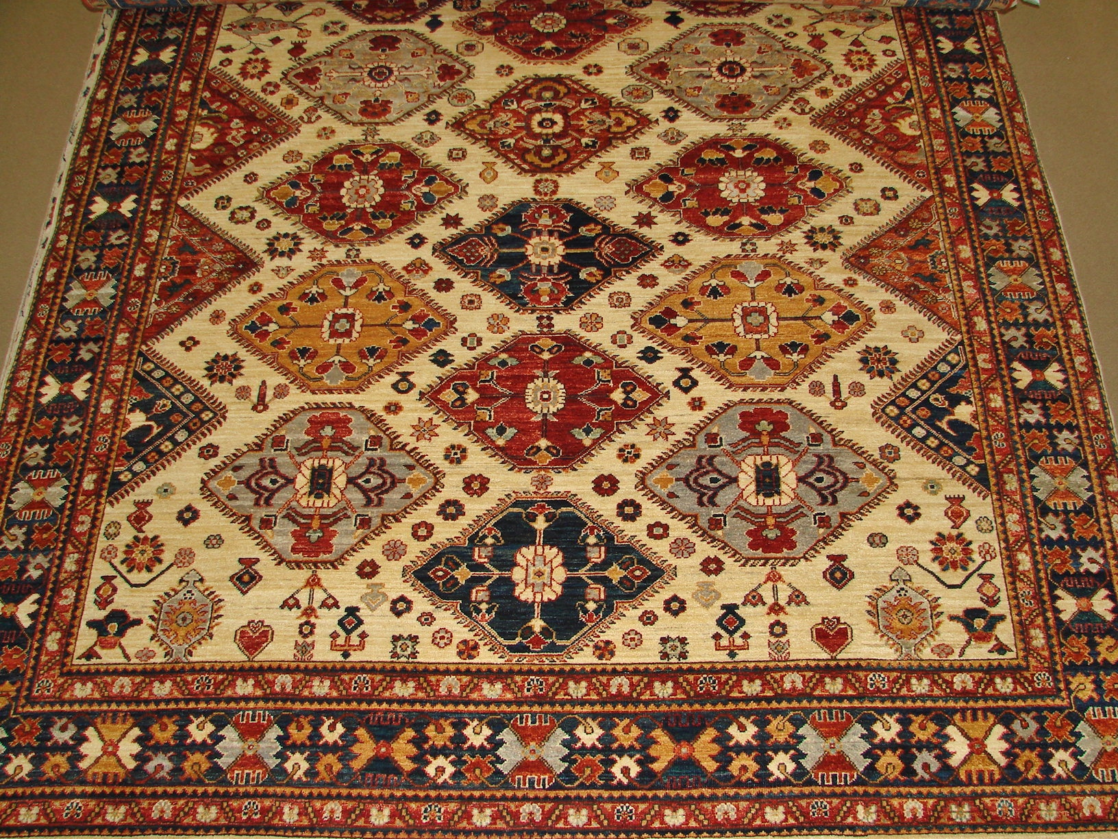 8x10 Peshawar Hand Knotted Wool Area Rug - MR16144