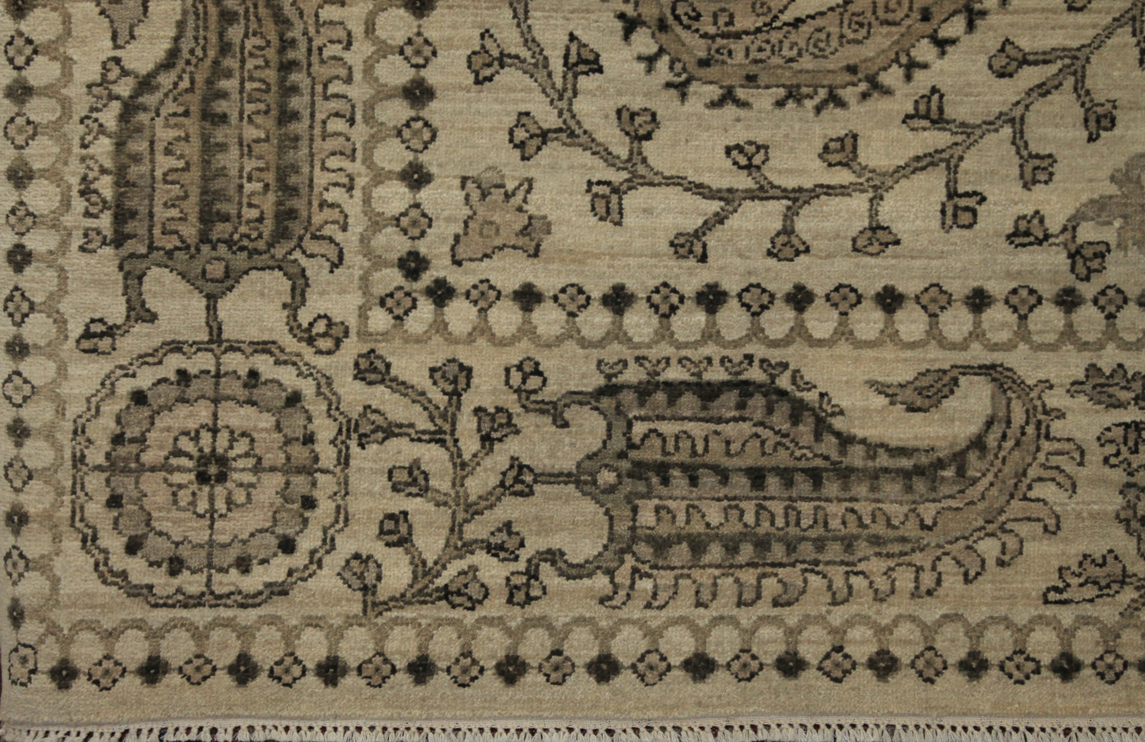 8x10 Antique Revival Hand Knotted Wool Area Rug - MR16198