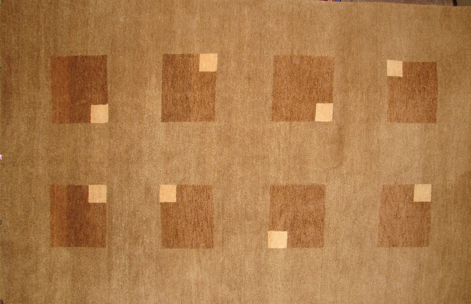 8x10 Contemporary Hand Knotted Wool Area Rug - MR16328