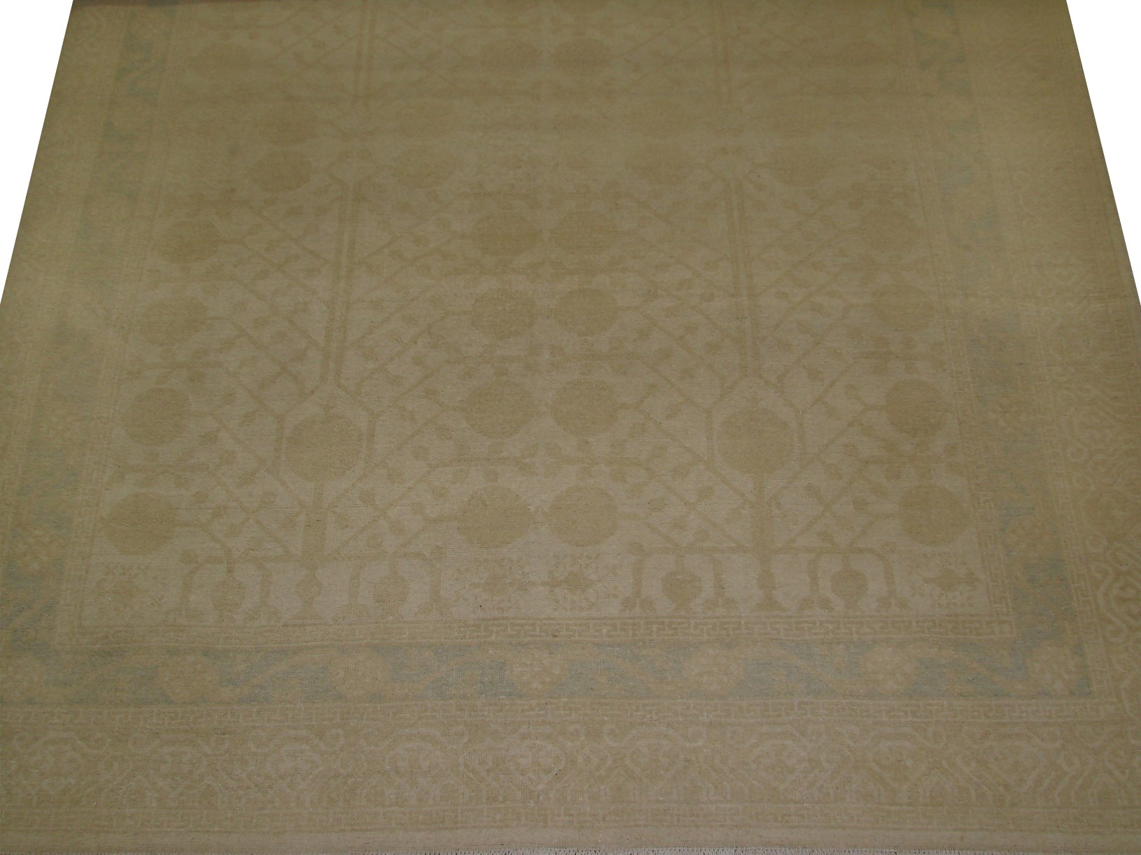 8x10 Peshawar Hand Knotted Wool Area Rug - MR16407