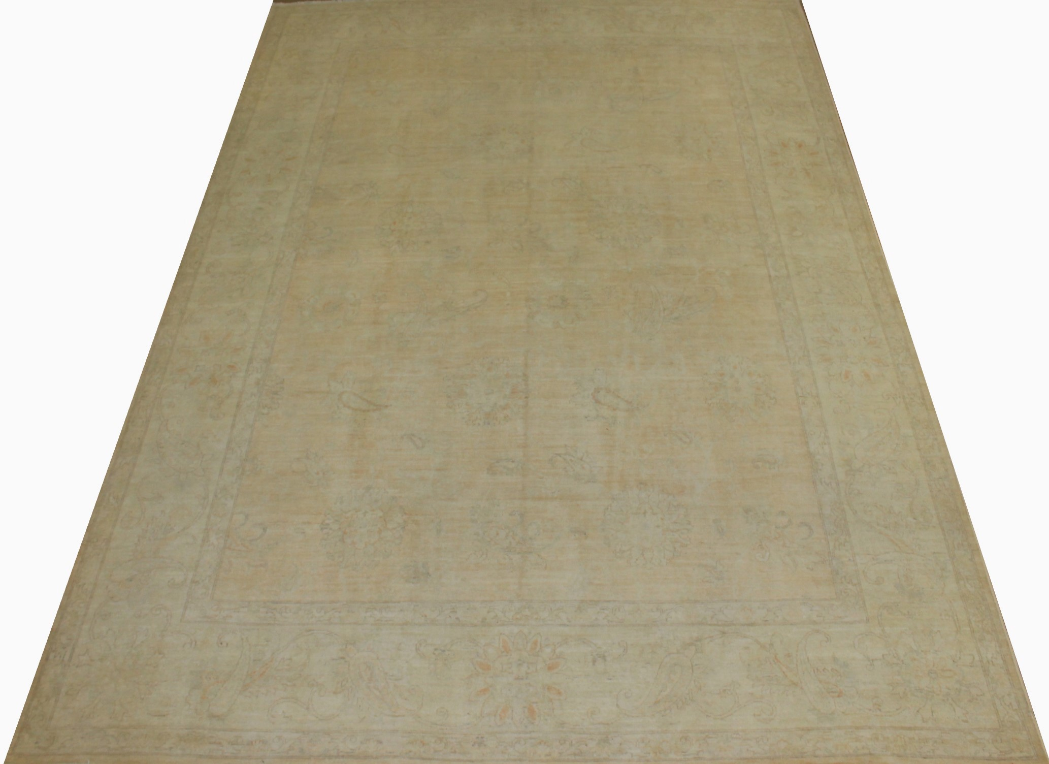 10x14 Peshawar Hand Knotted Wool Area Rug - MR16409