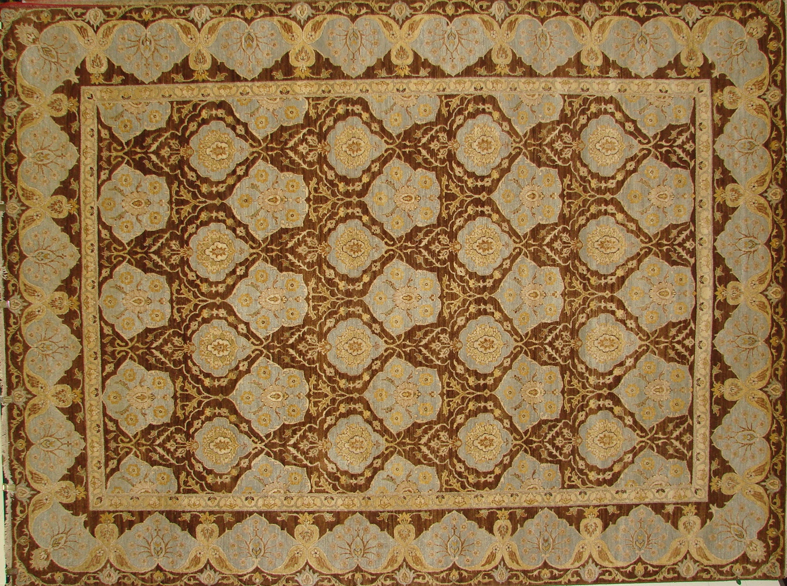 9x12 Traditional Hand Knotted Wool Area Rug - MR16417