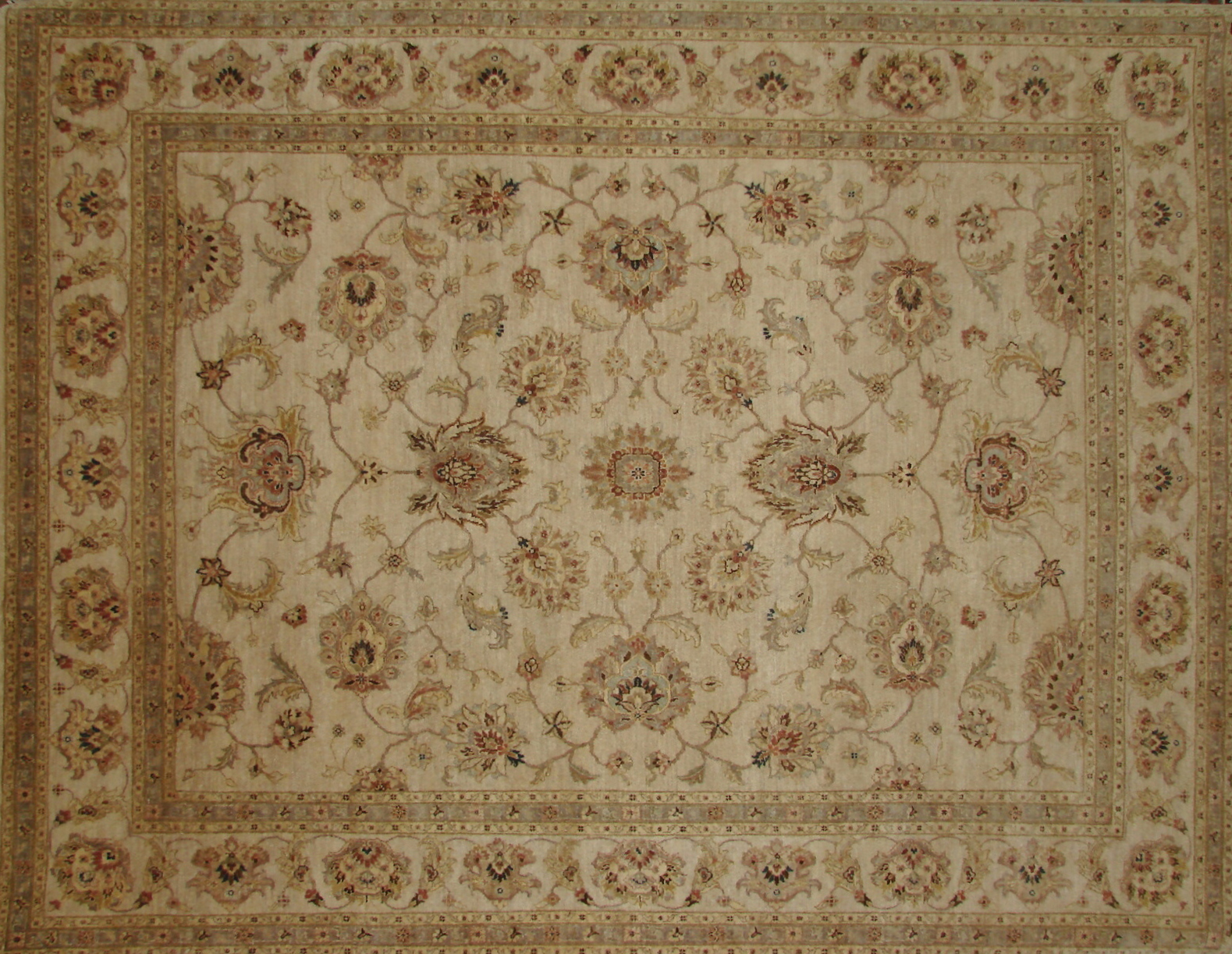 8x10 Traditional Hand Knotted Wool Area Rug - MR16549