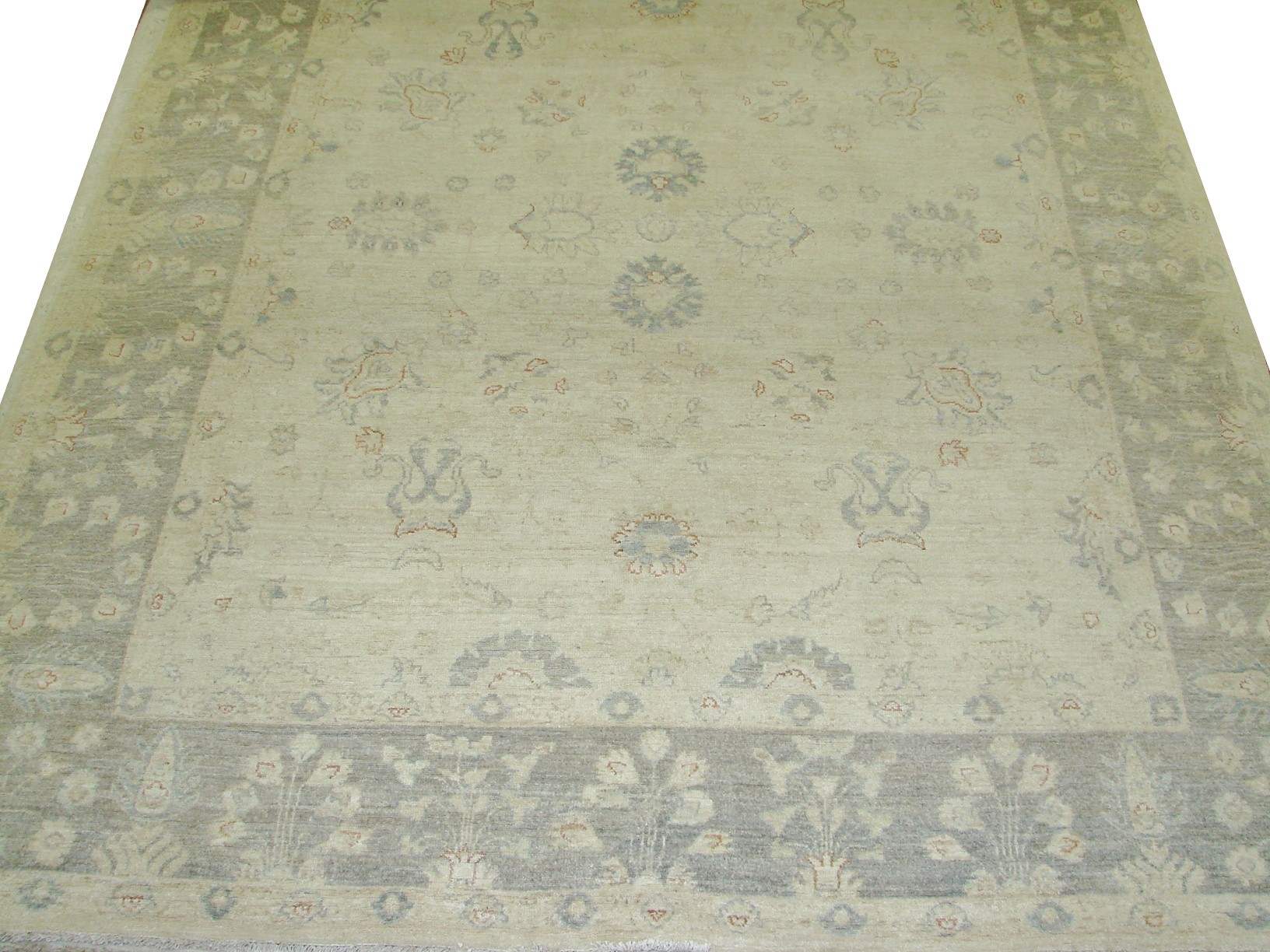 8x10 Peshawar Hand Knotted Wool Area Rug - MR16724