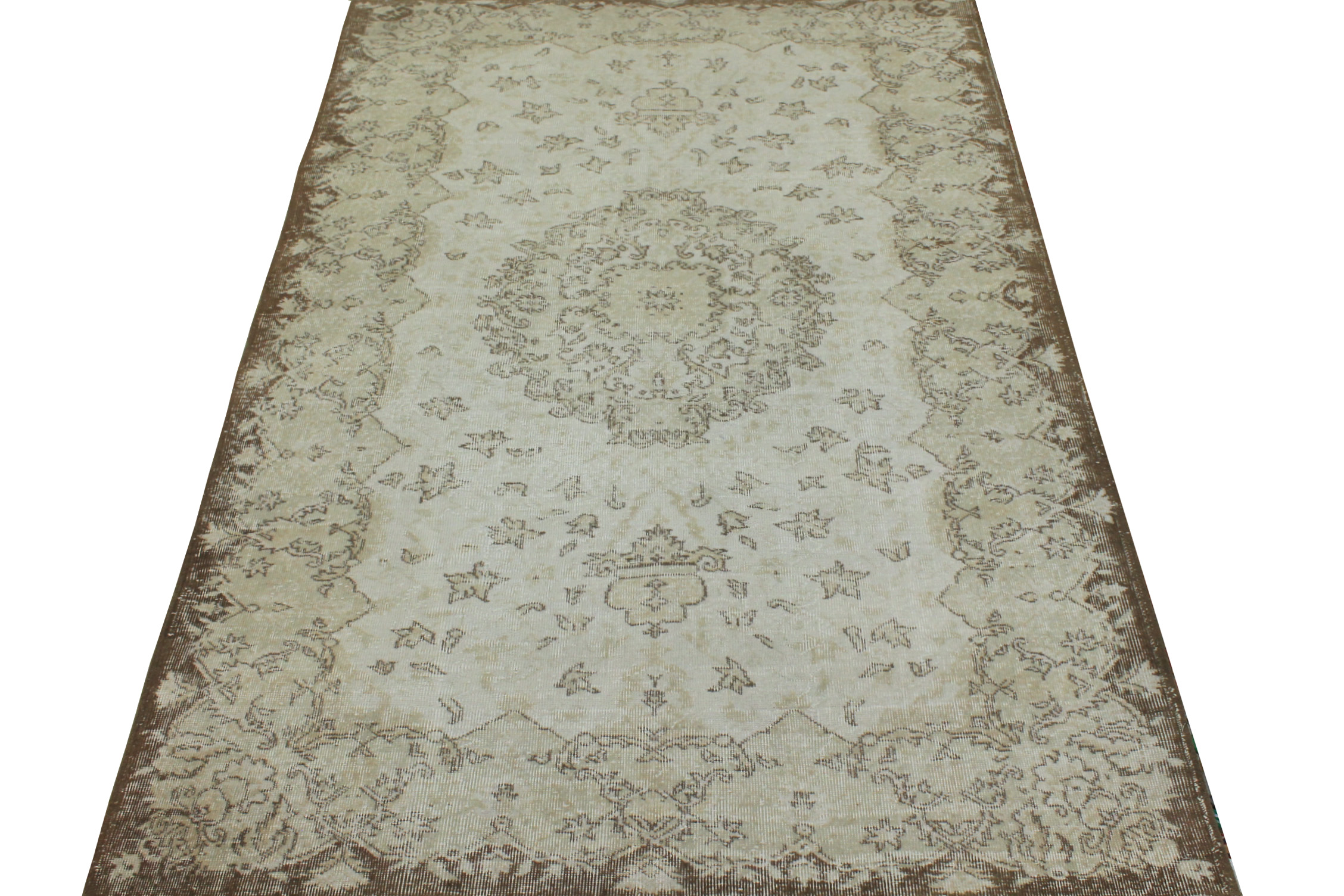 6x9 Oushak Hand Knotted Wool Area Rug - MR16777