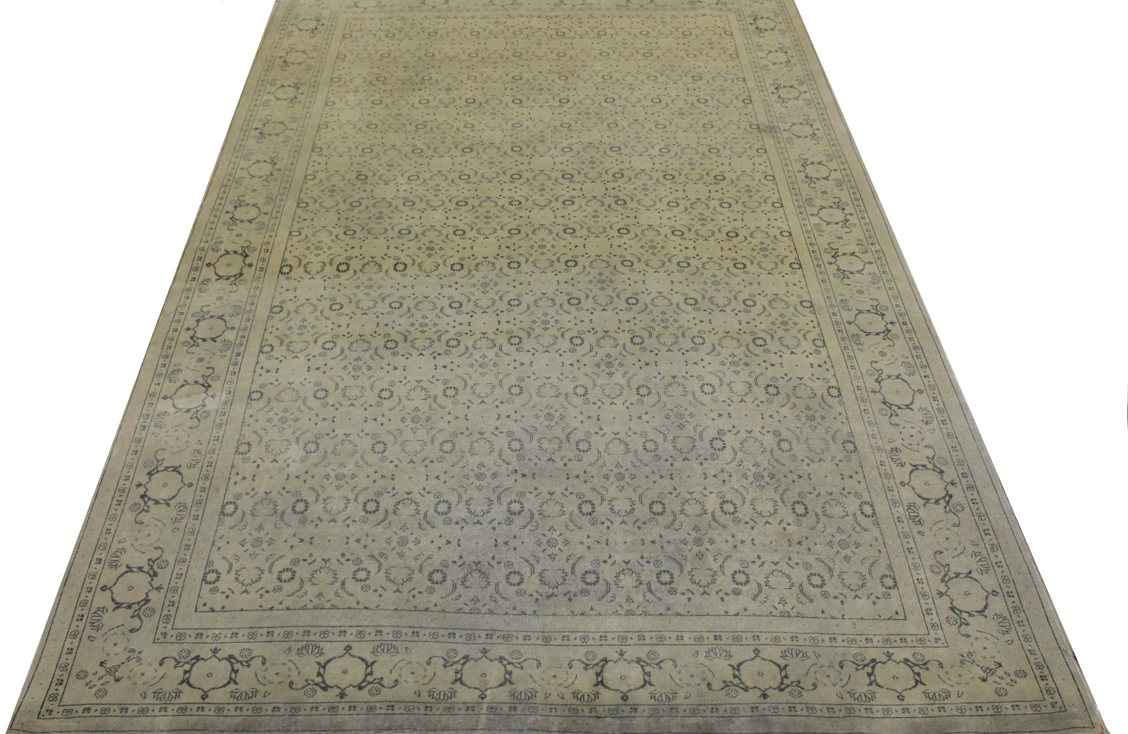 8x10 Oushak Hand Knotted Wool Area Rug - MR16796