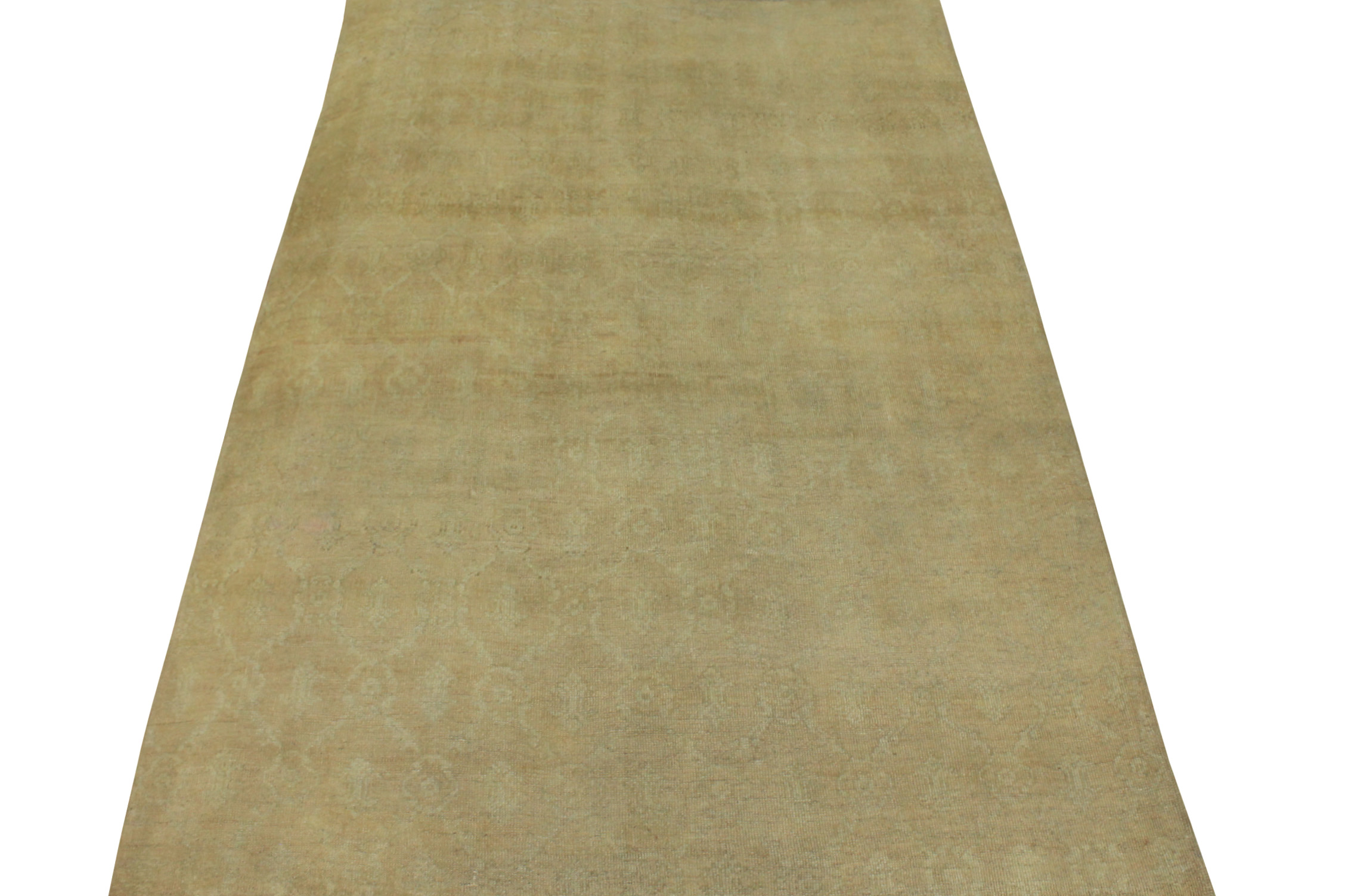 6x9 Oushak Hand Knotted Wool Area Rug - MR16809