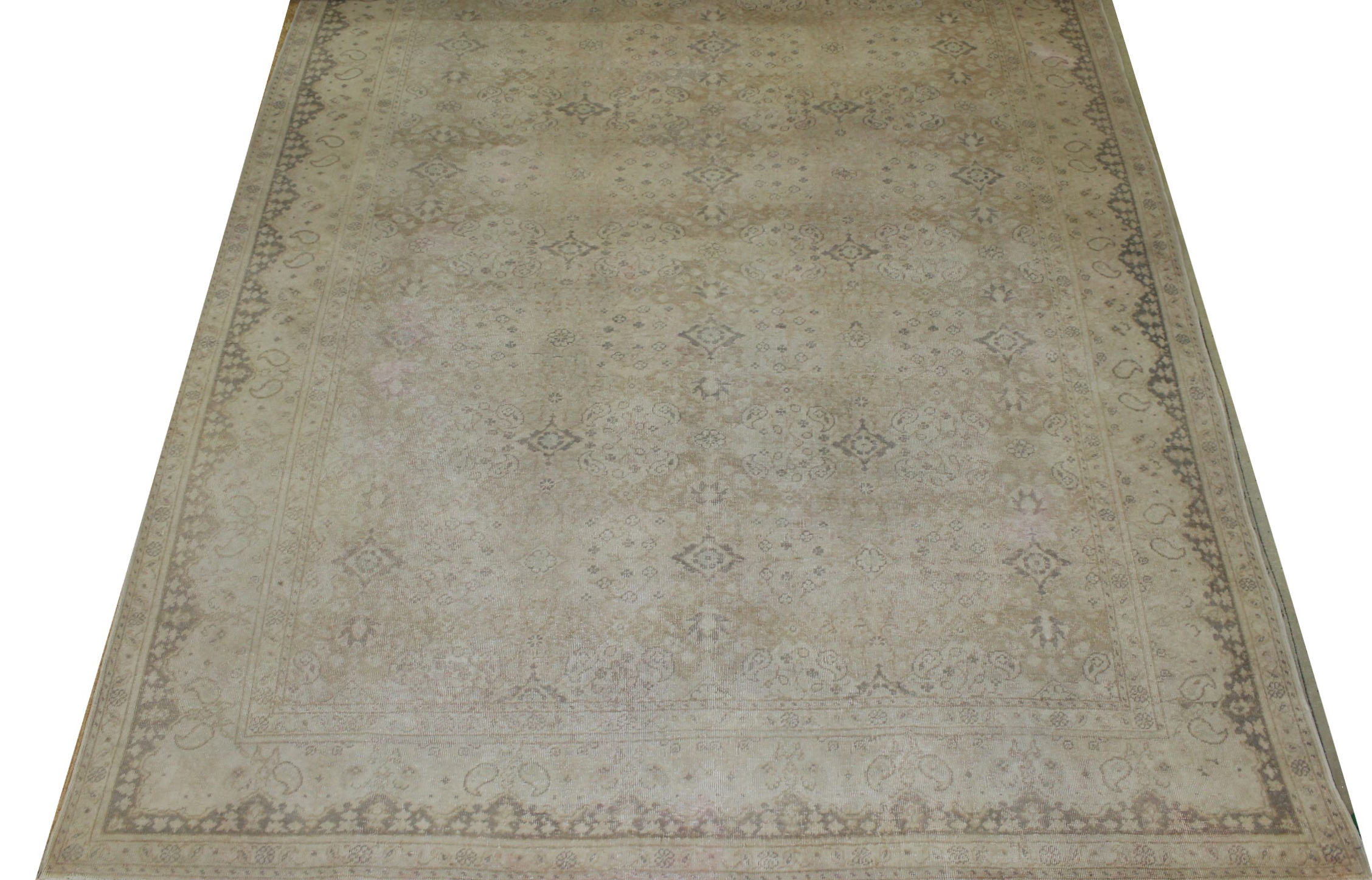 8x10 Oushak Hand Knotted Wool Area Rug - MR16815