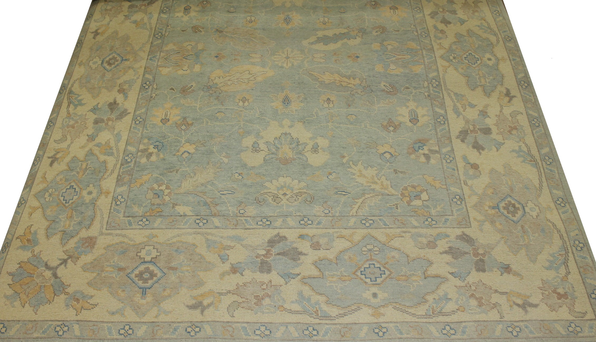 8x10 Oushak Hand Knotted Wool Area Rug - MR16827