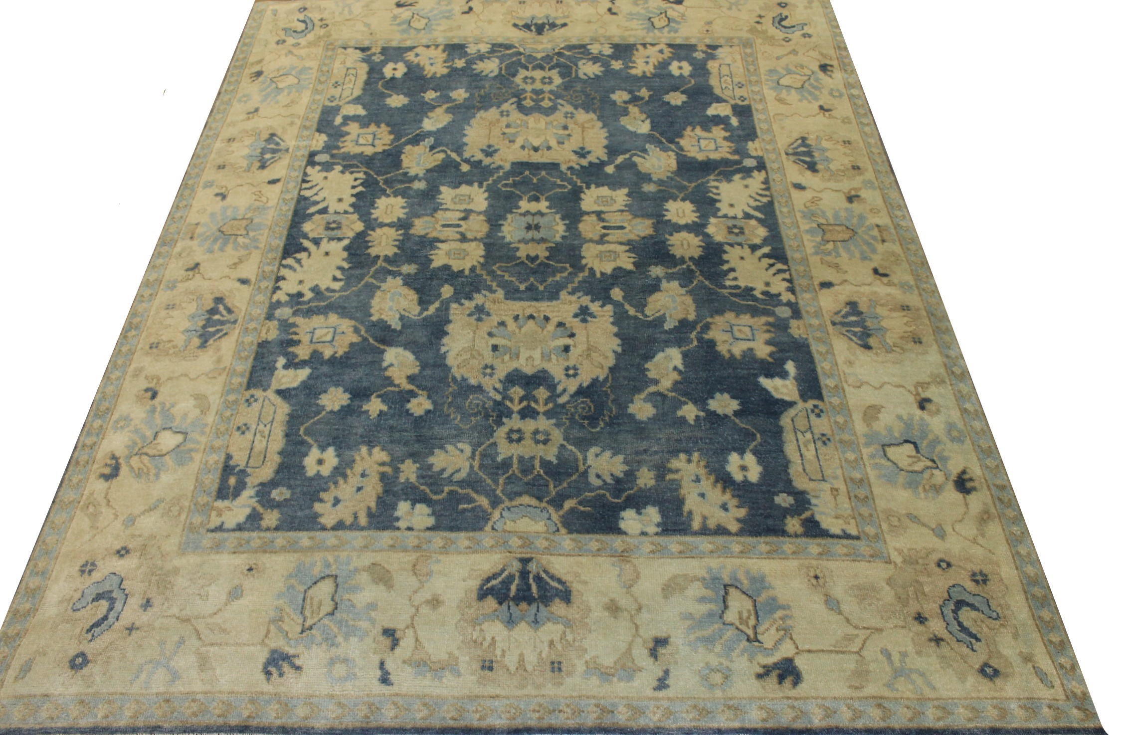 8x10 Oushak Hand Knotted Wool Area Rug - MR17225