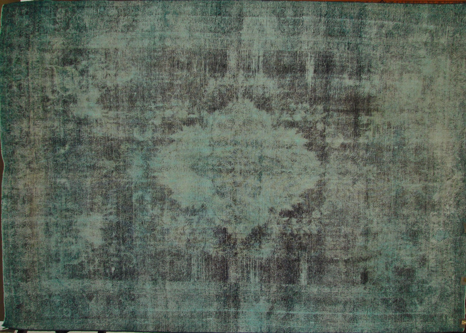 9x12 Vintage Hand Knotted Wool Area Rug - MR17290