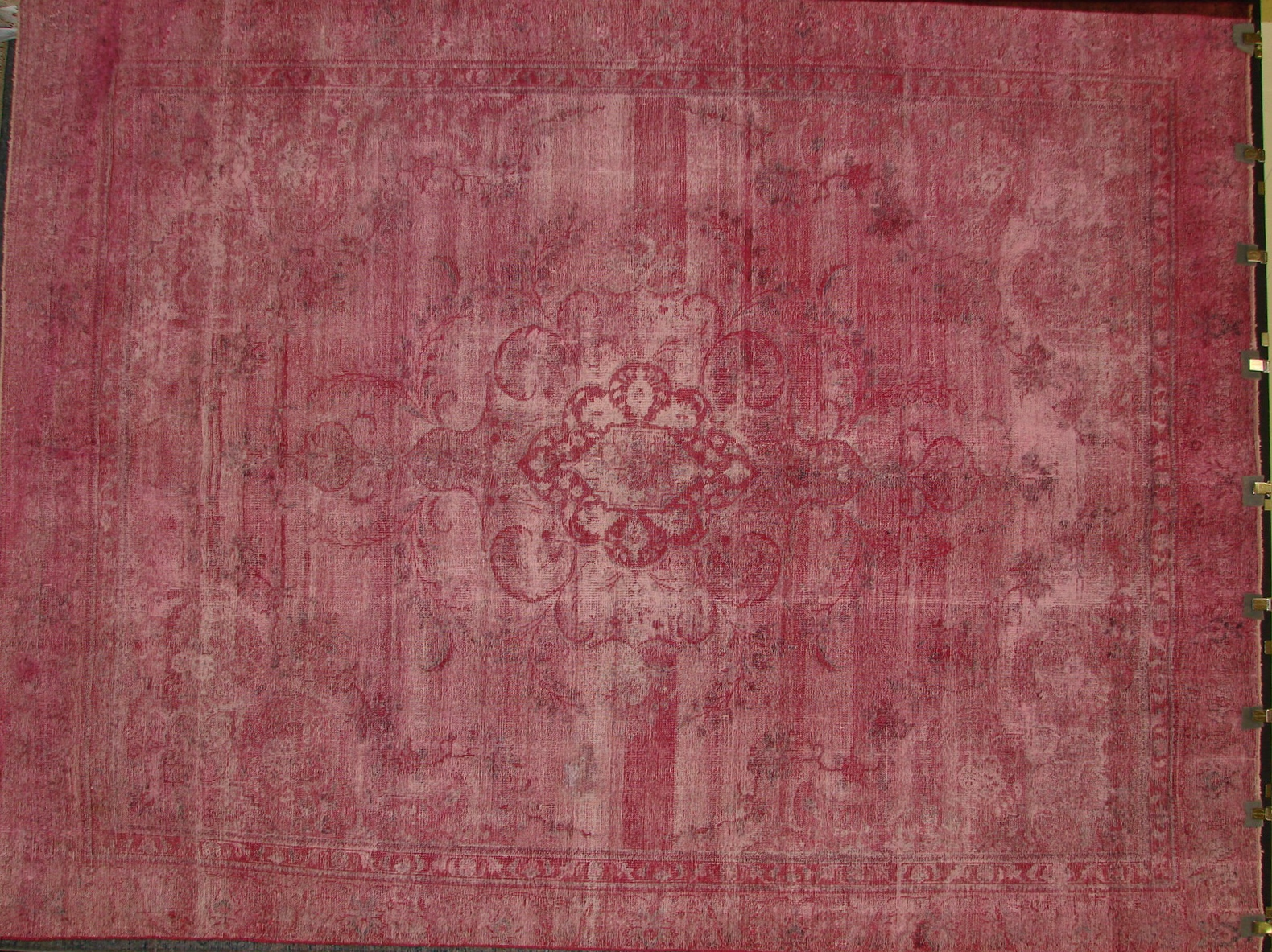 9x12 Vintage Hand Knotted Wool Area Rug - MR17292