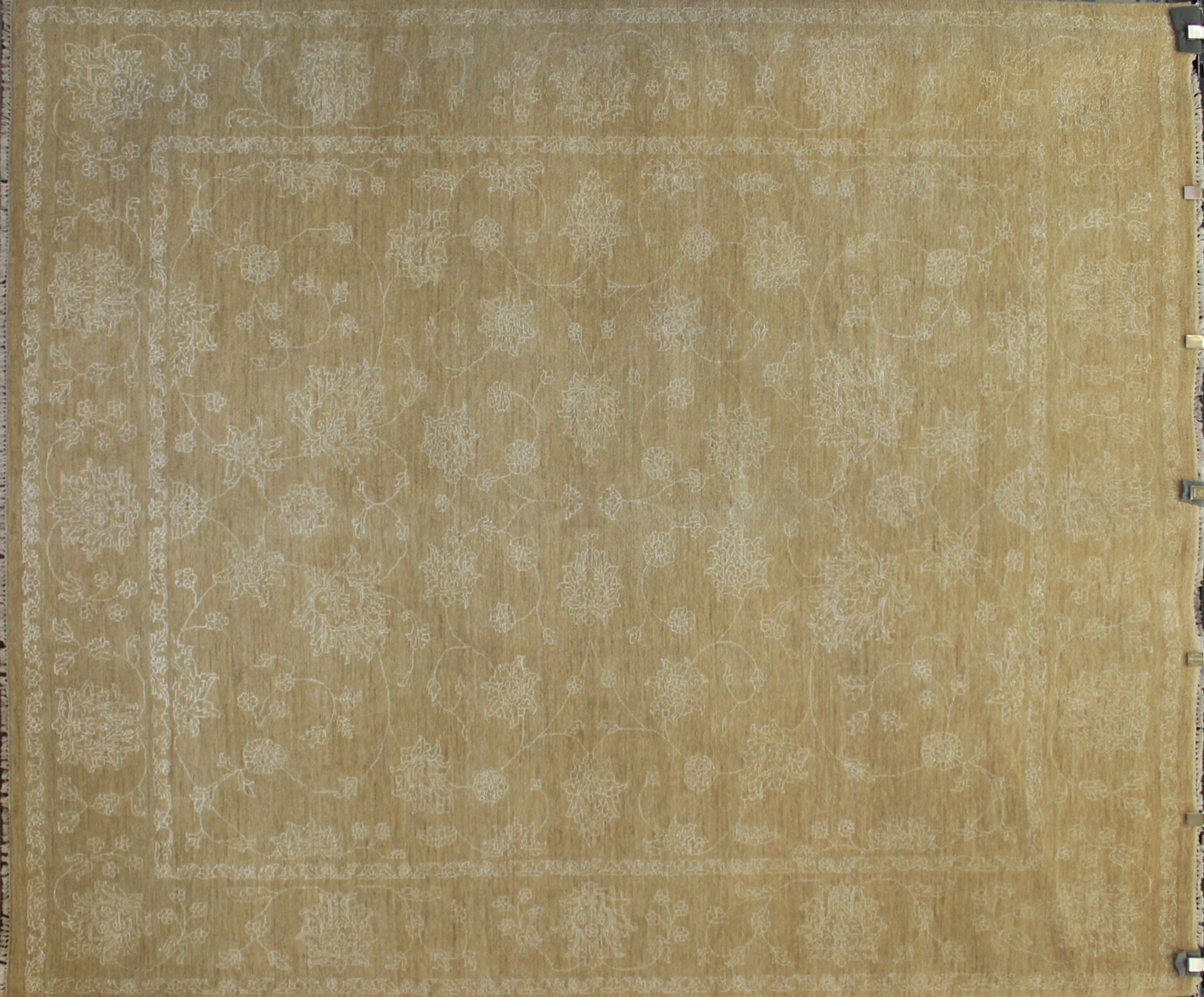 8x10 Contemporary Hand Knotted Wool Area Rug - MR17405