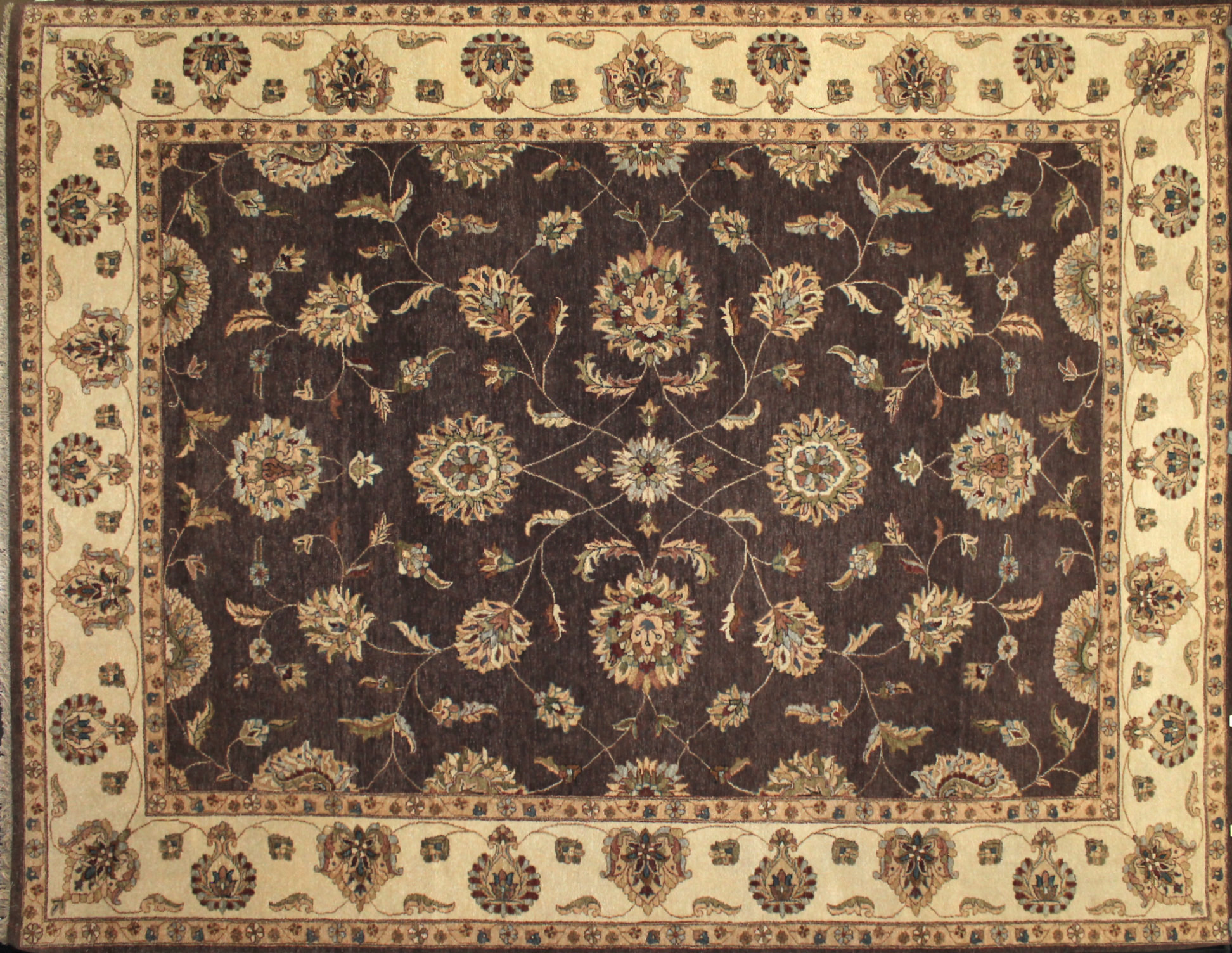 9x12 Traditional Hand Knotted Wool Area Rug - MR17482