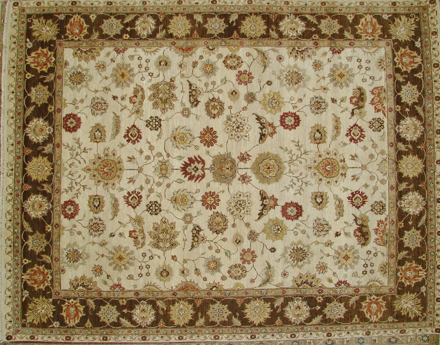 8x10 Traditional Hand Knotted Wool Area Rug - MR17502