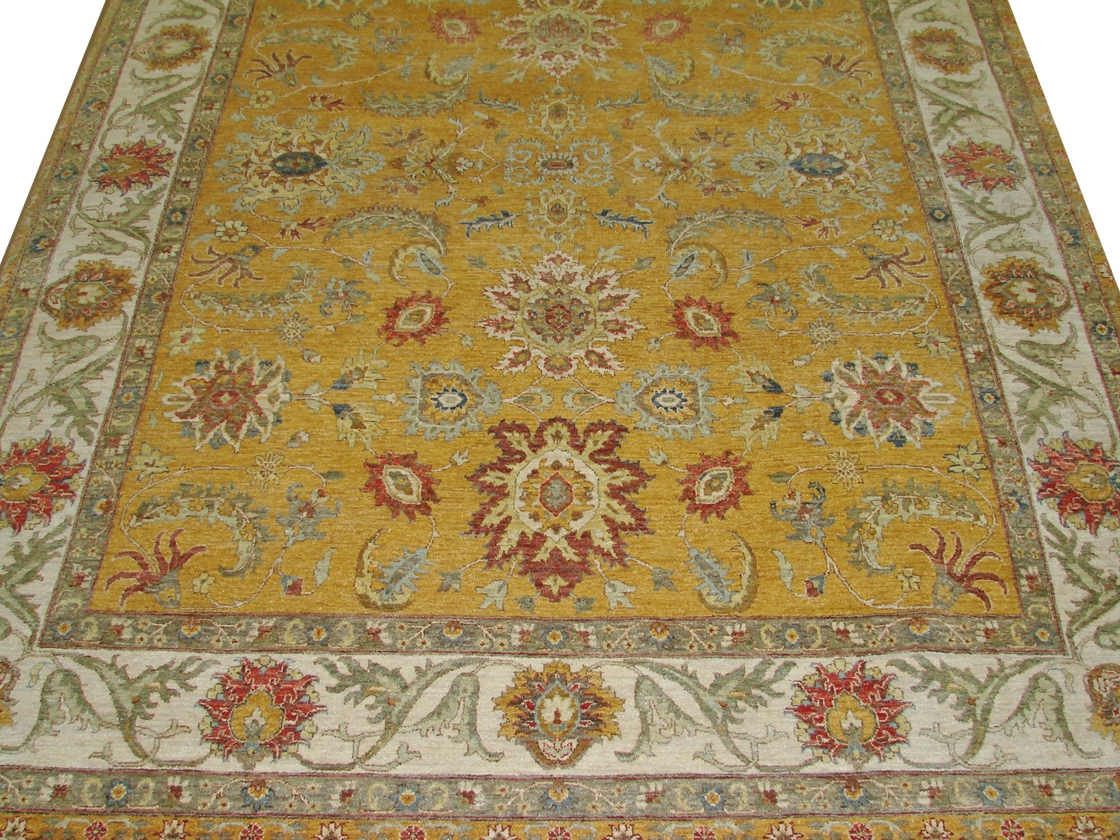 8x10 Traditional Hand Knotted Wool Area Rug - MR17961