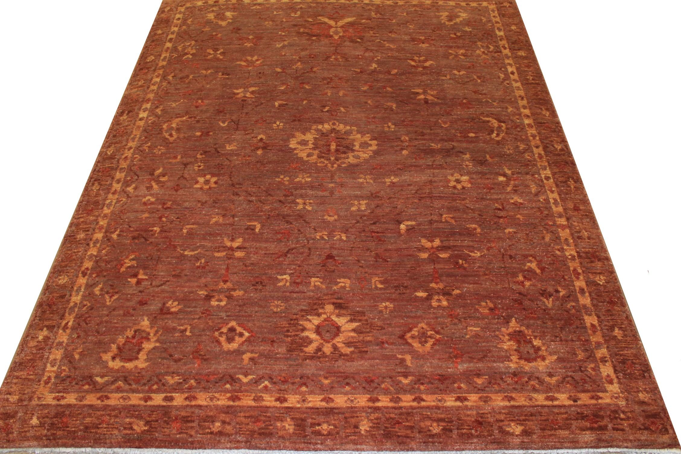 8x10 Oushak Hand Knotted Wool Area Rug - MR18029