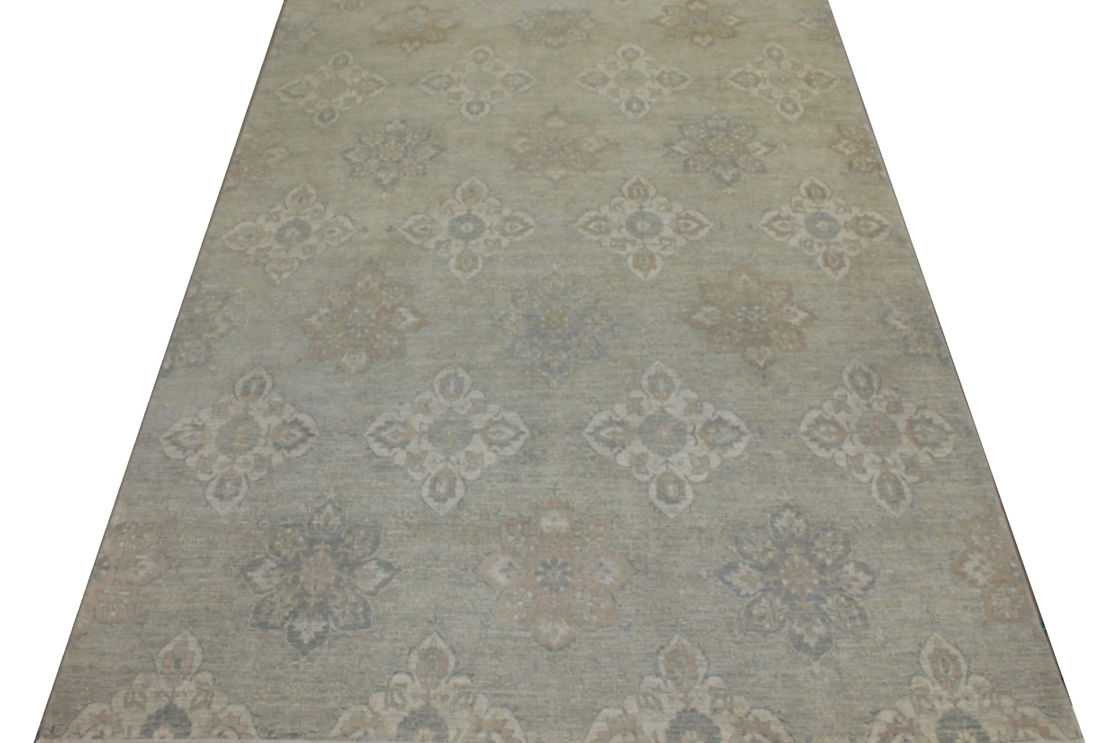 9x12 Peshawar Hand Knotted Wool Area Rug - MR18064