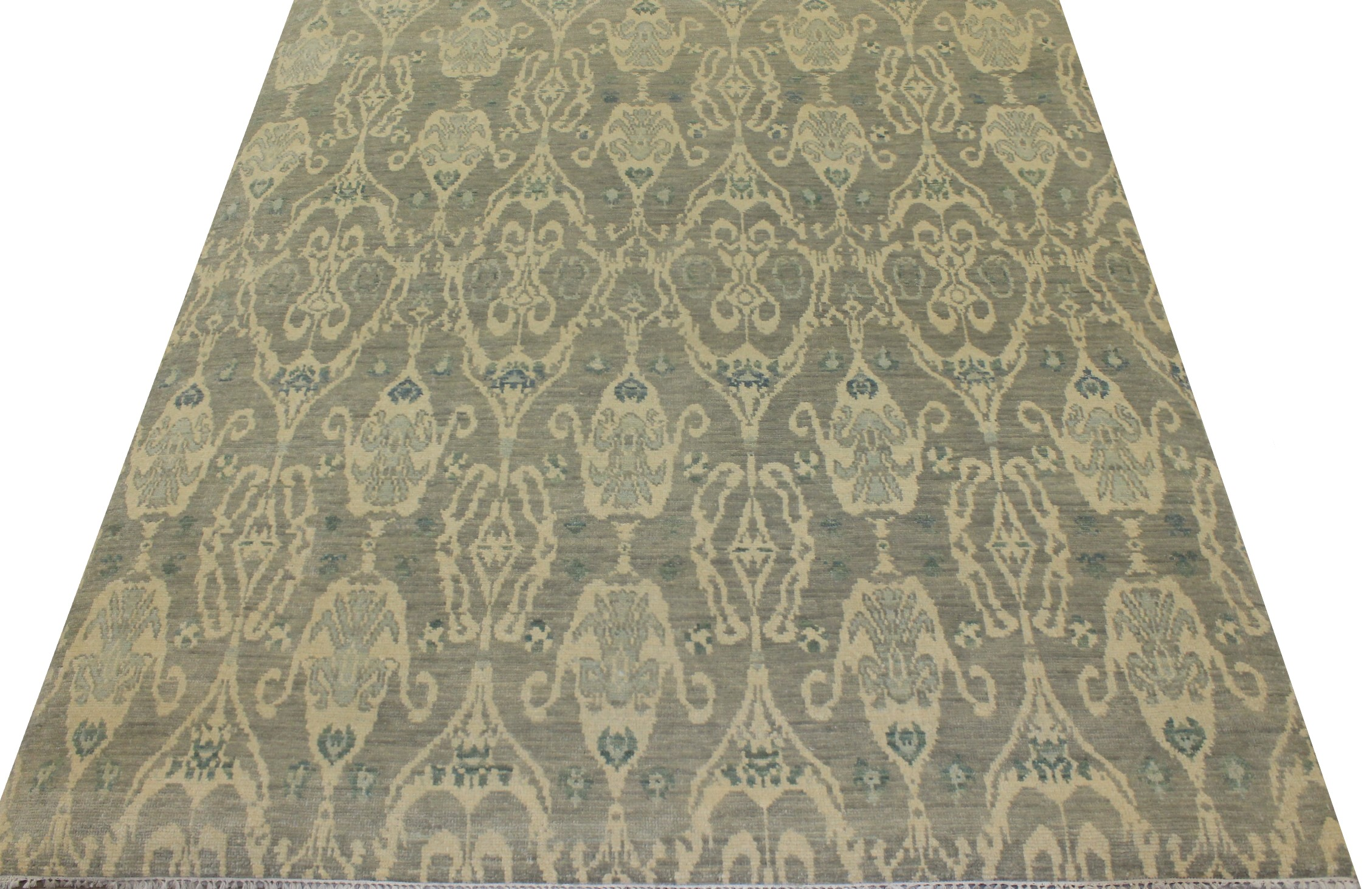 8x10 Contemporary Hand Knotted Wool Area Rug - MR18081