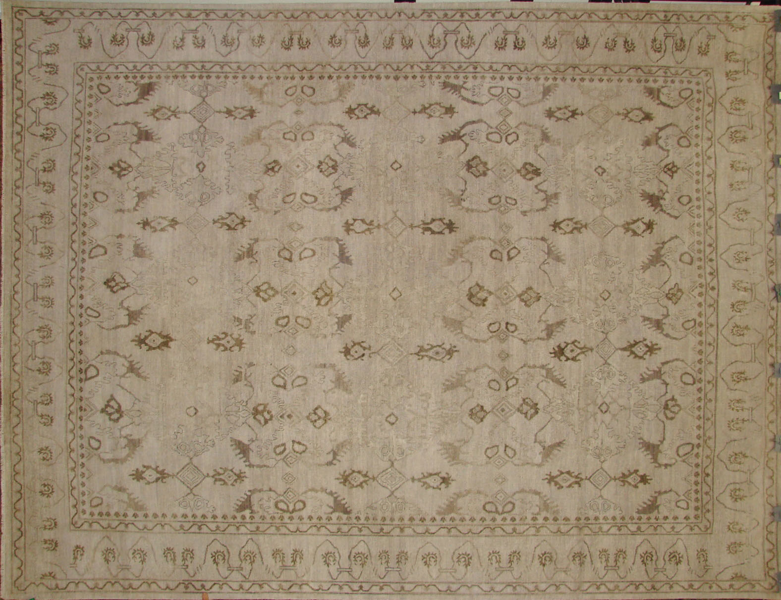 9x12 Antique Revival Hand Knotted Wool Area Rug - MR18095
