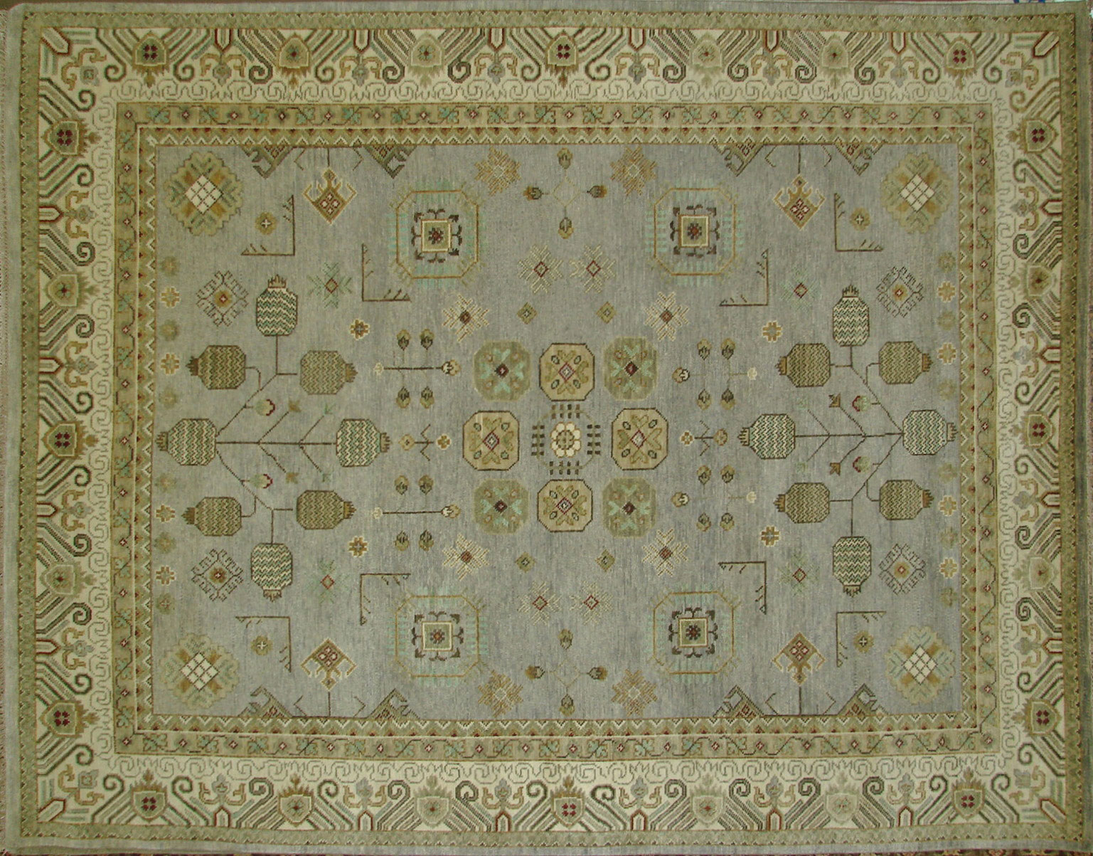 9x12 Oushak Hand Knotted Wool Area Rug - MR18154
