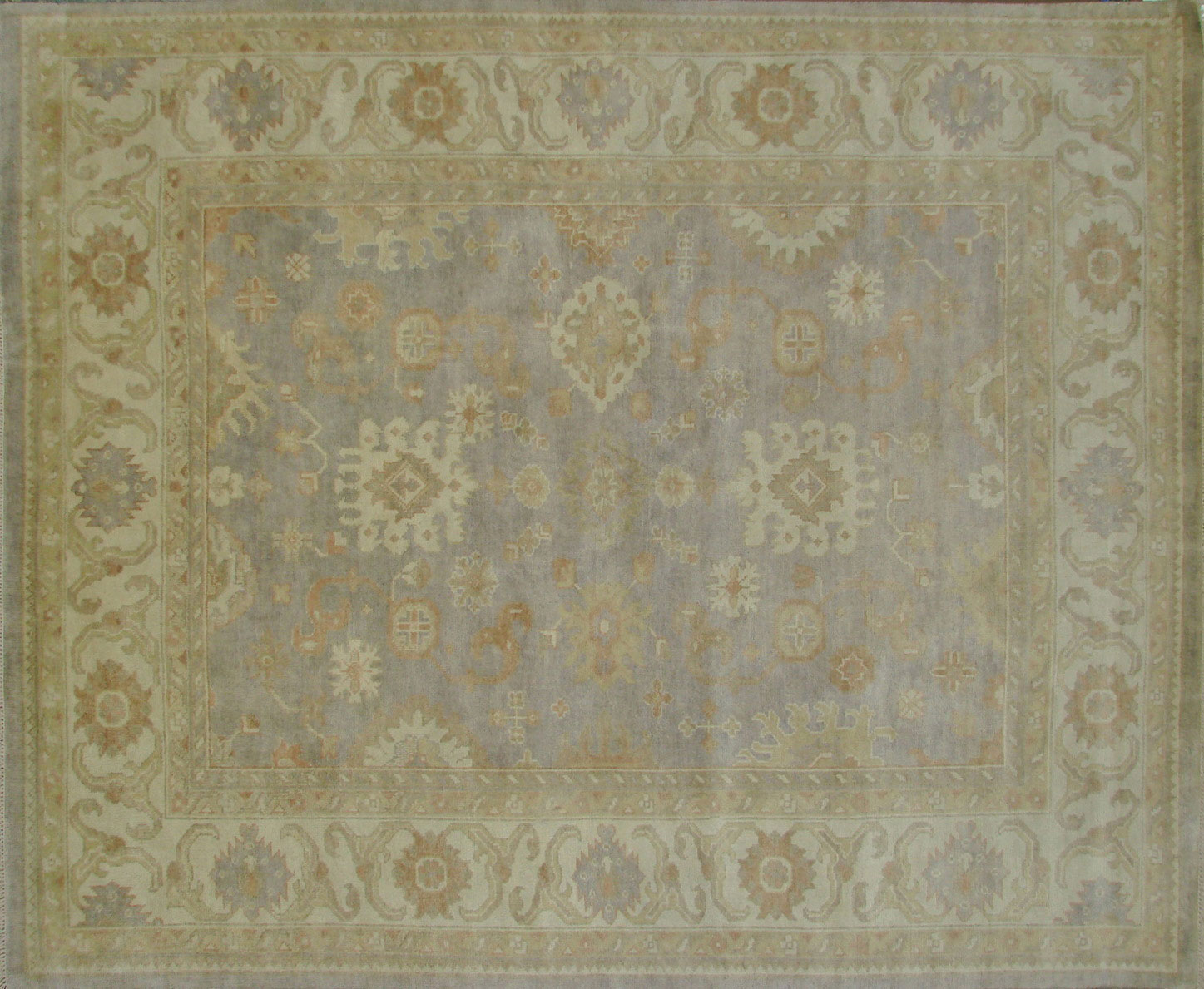 8x10 Oushak Hand Knotted Wool Area Rug - MR18211