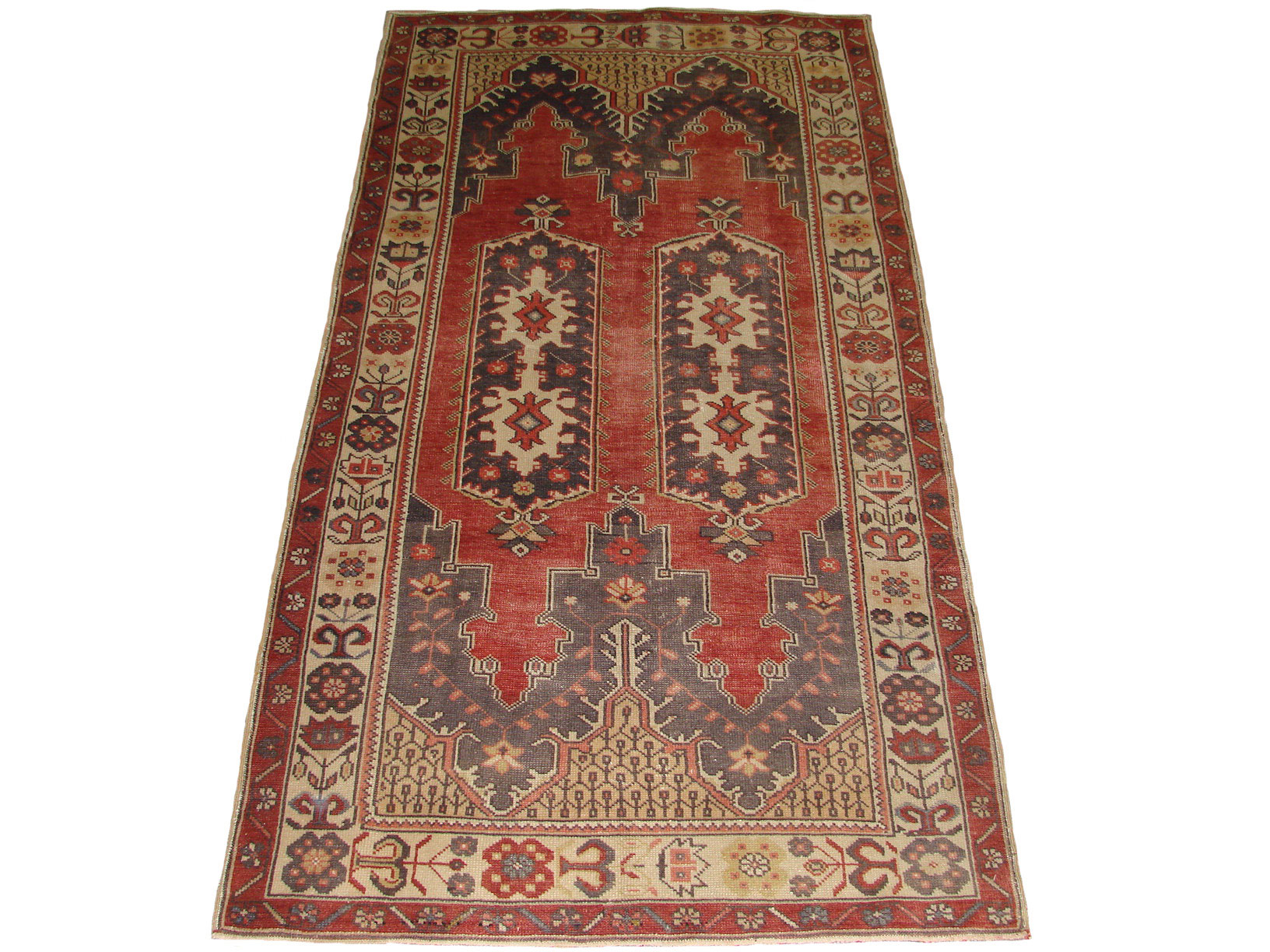 4x6 Oushak Hand Knotted Wool Area Rug - MR18249