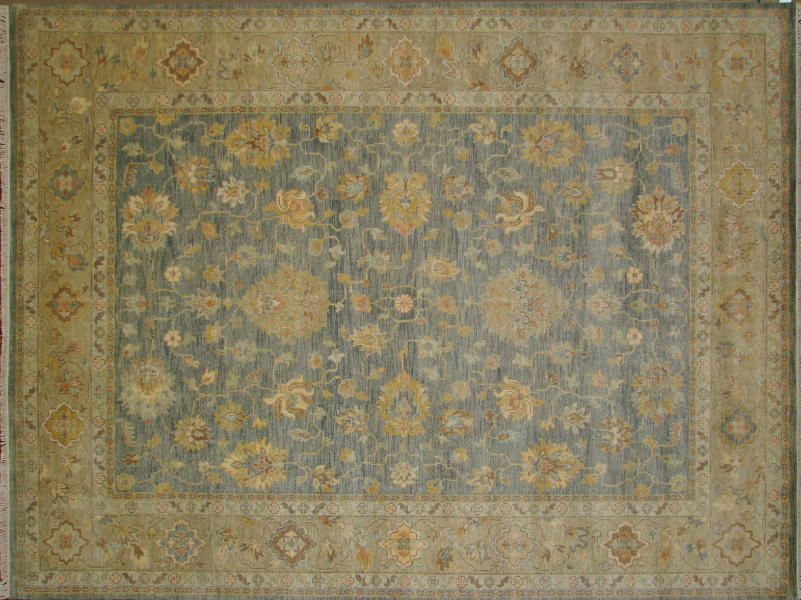 9x12 Traditional Hand Knotted Wool Area Rug - MR18401
