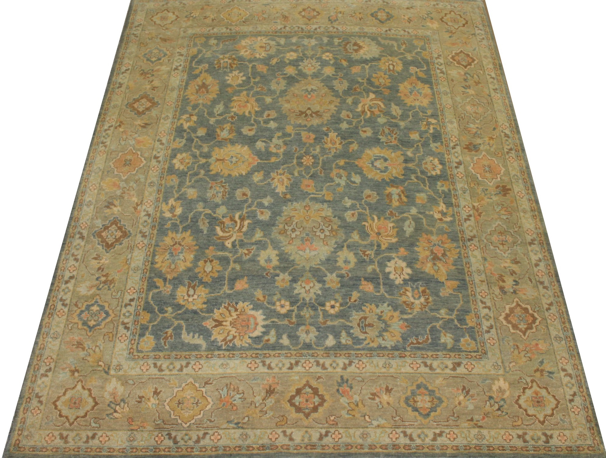 8x10 Traditional Hand Knotted Wool Area Rug - MR18402