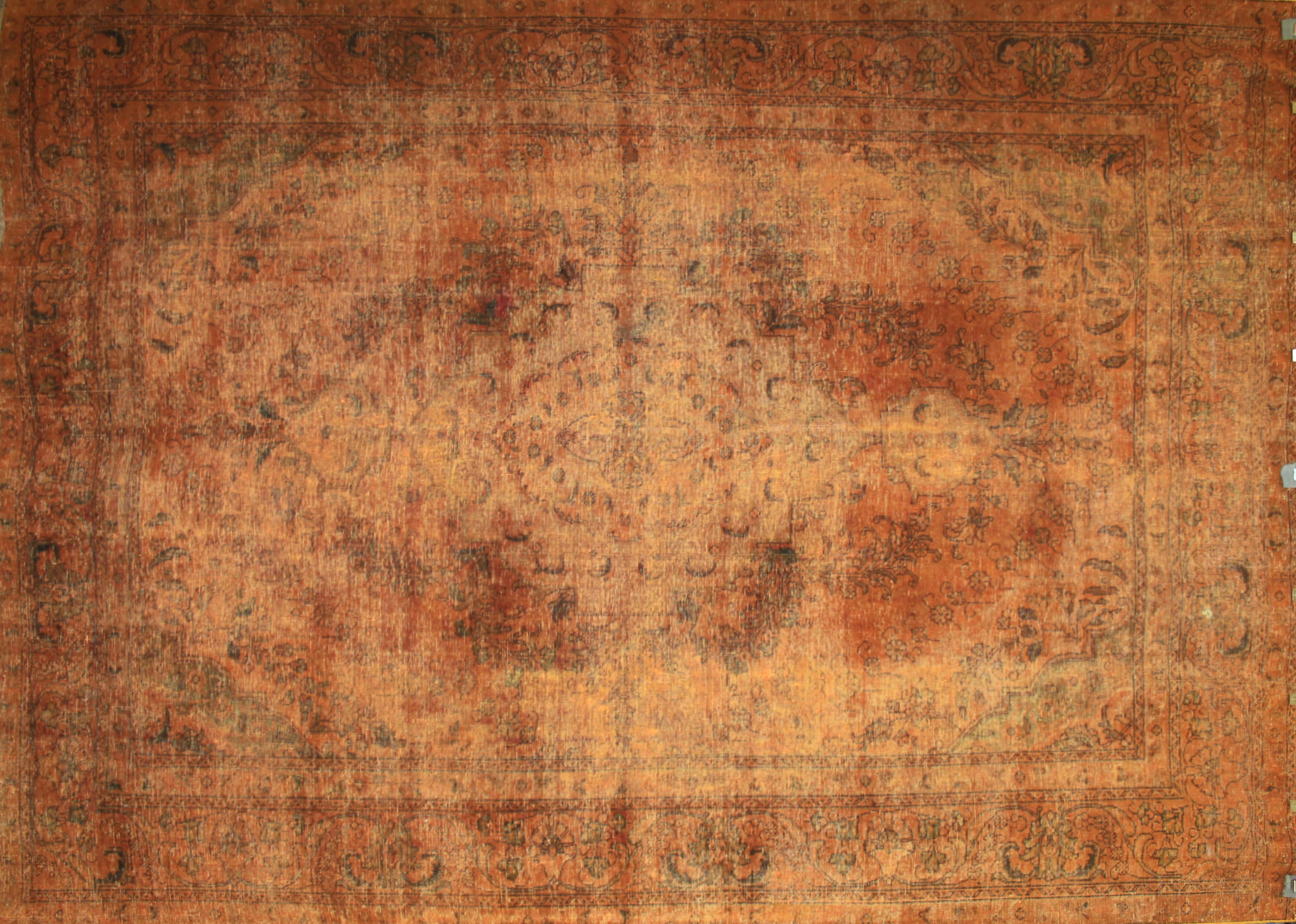 9x12 Vintage Hand Knotted Wool Area Rug - MR18422