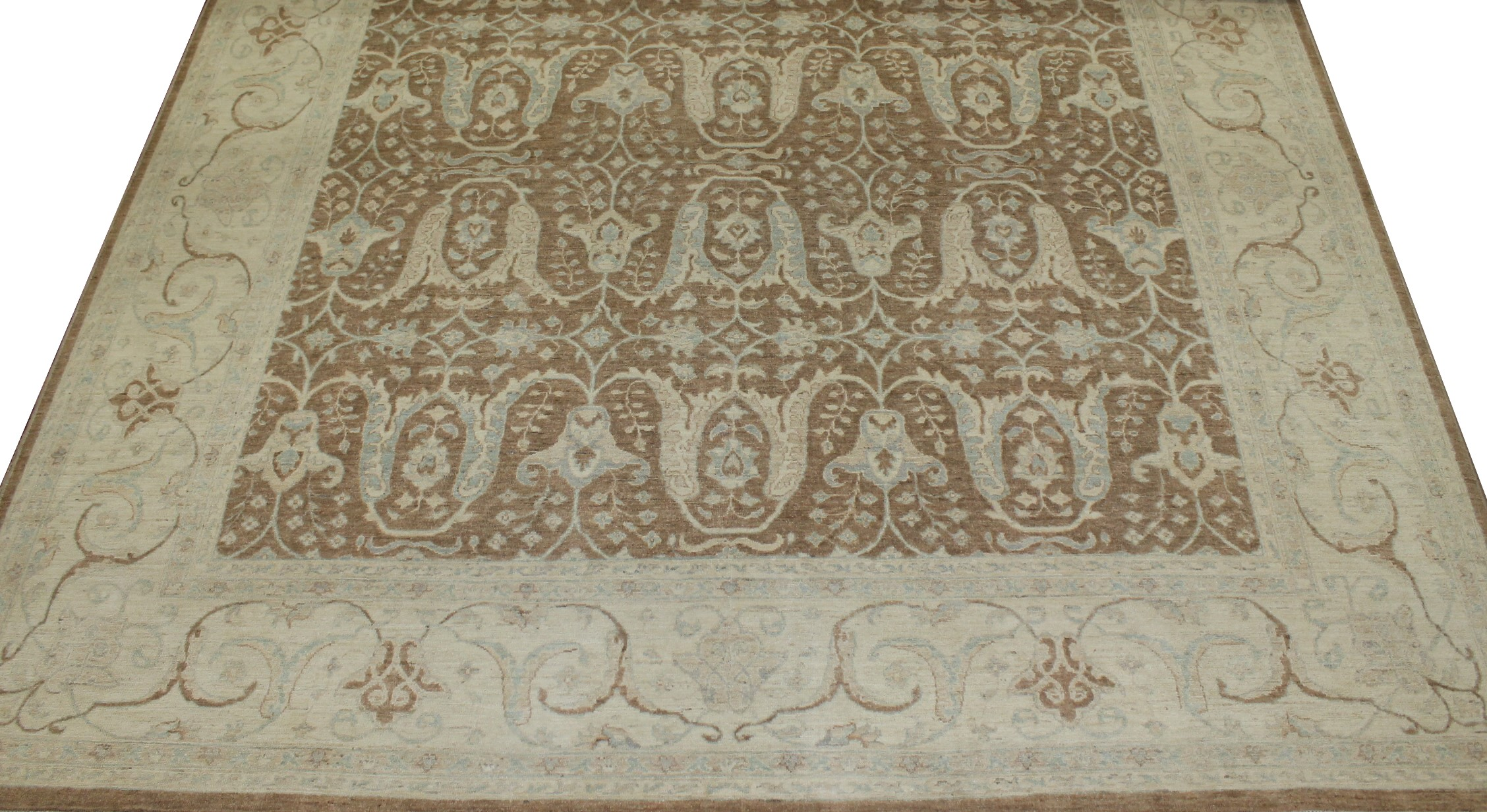 10x14 Peshawar Hand Knotted Wool Area Rug - MR18425
