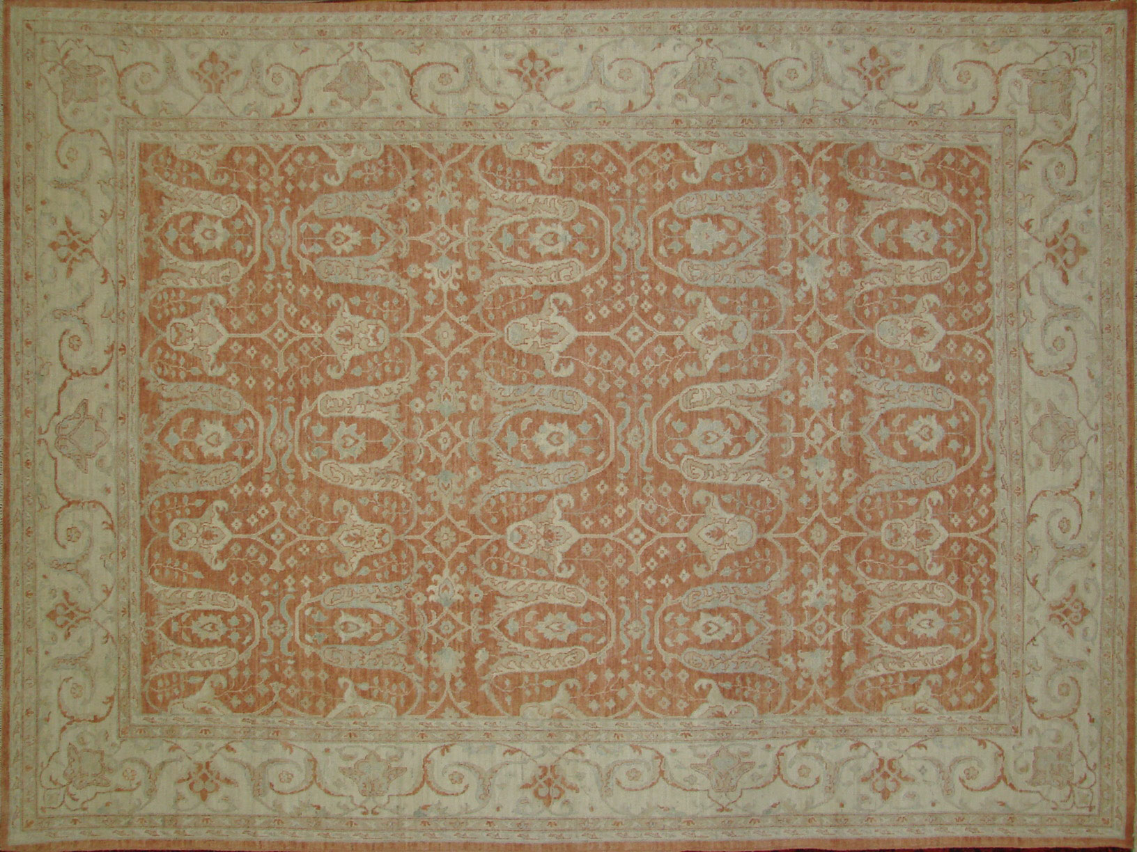 9x12 Peshawar Hand Knotted Wool Area Rug - MR18432