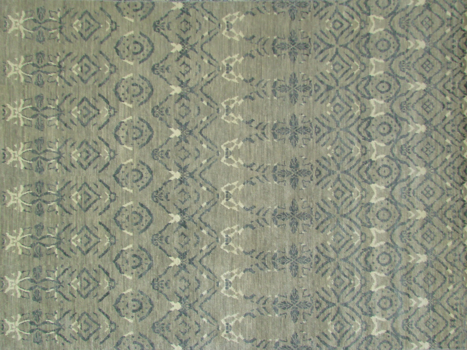 8x10 Contemporary Hand Knotted Wool Area Rug - MR18512