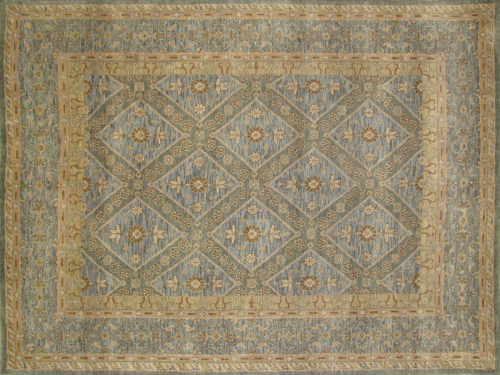 8x10 Heriz/Serapi Hand Knotted Wool Area Rug - MR18545